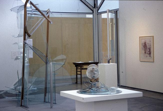 A Quattrocento Narrative  exhibition installation