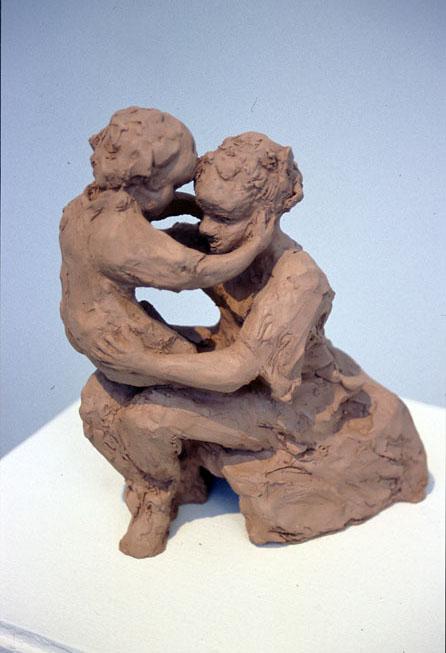 Mother & Child, 2002, Terracotta, 20 x 23 x 11 cm