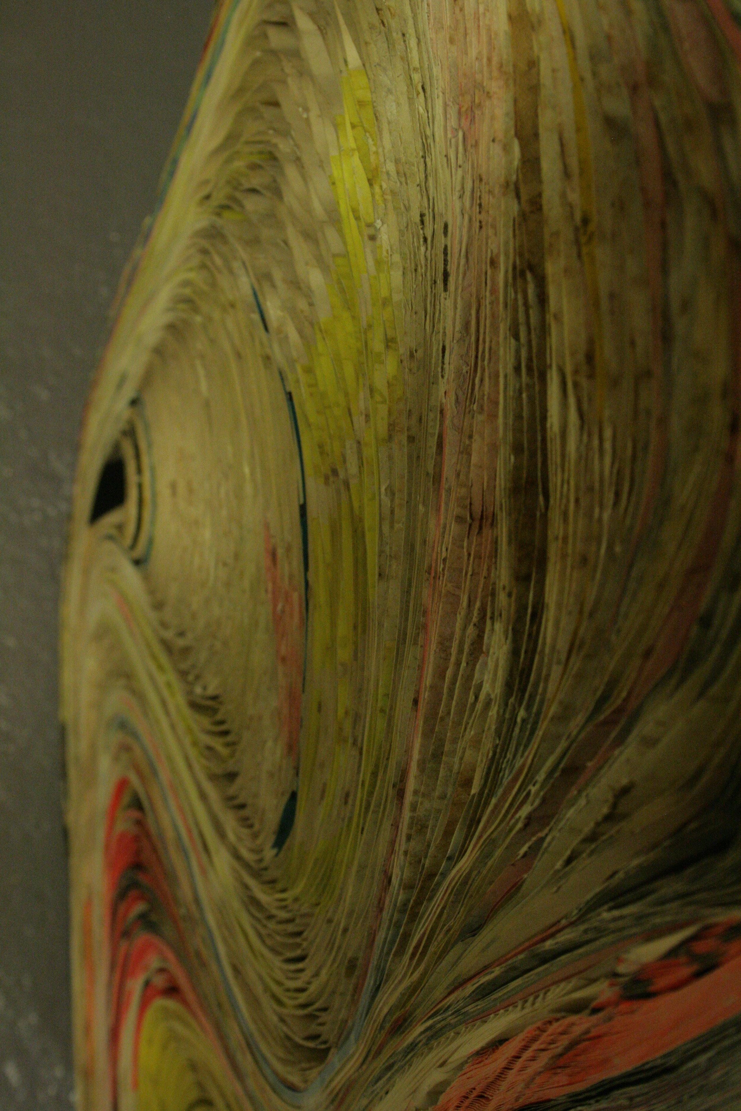 Décrassage des bandes de papier