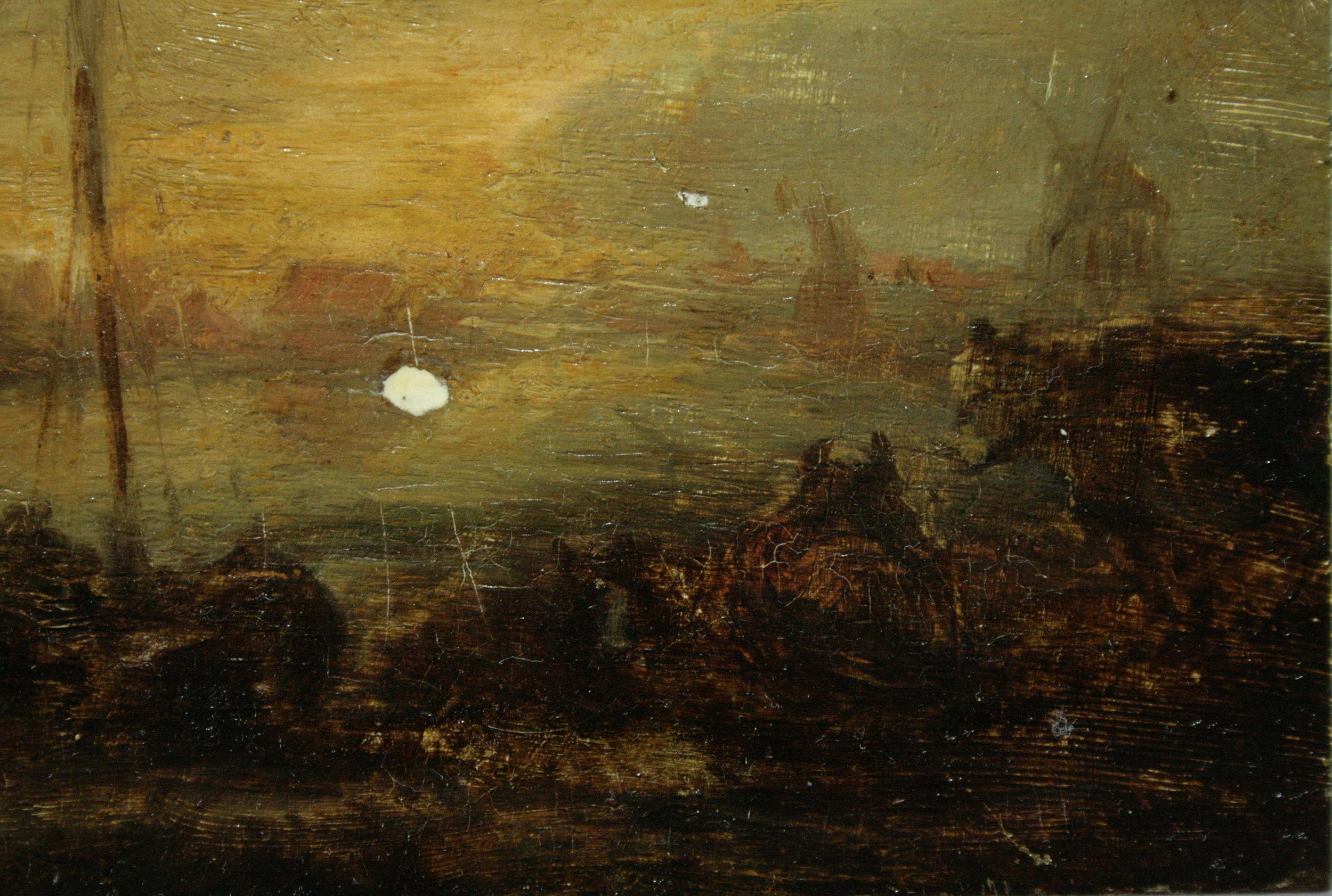 Paysage au bord de l'eau - Jan Josephsz Van Goyen (XVIIe)