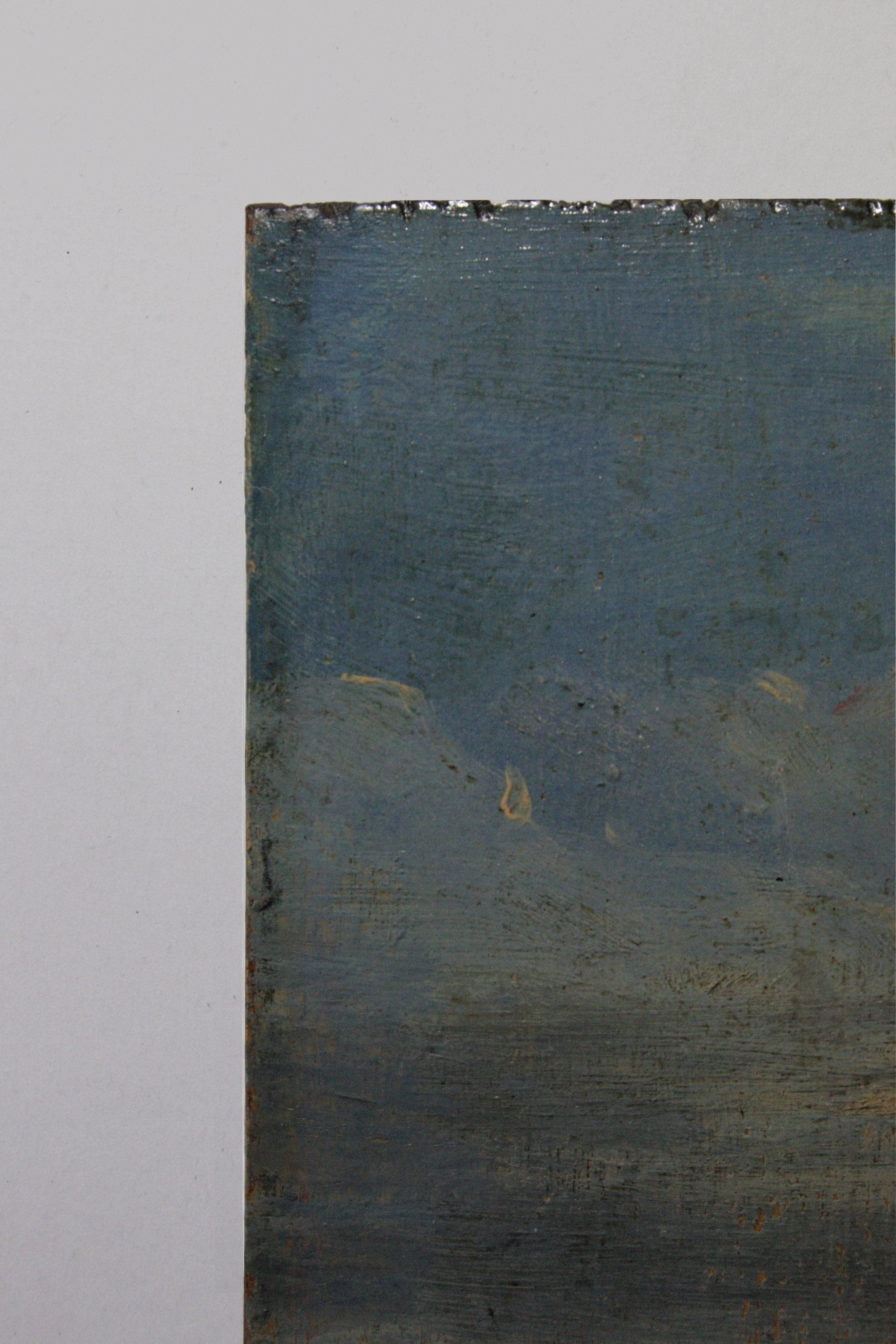 Copie d'un tableau de Joseph Vernet (Vue de Dieppe - 1765) - Emile Godchaux (XIXe)