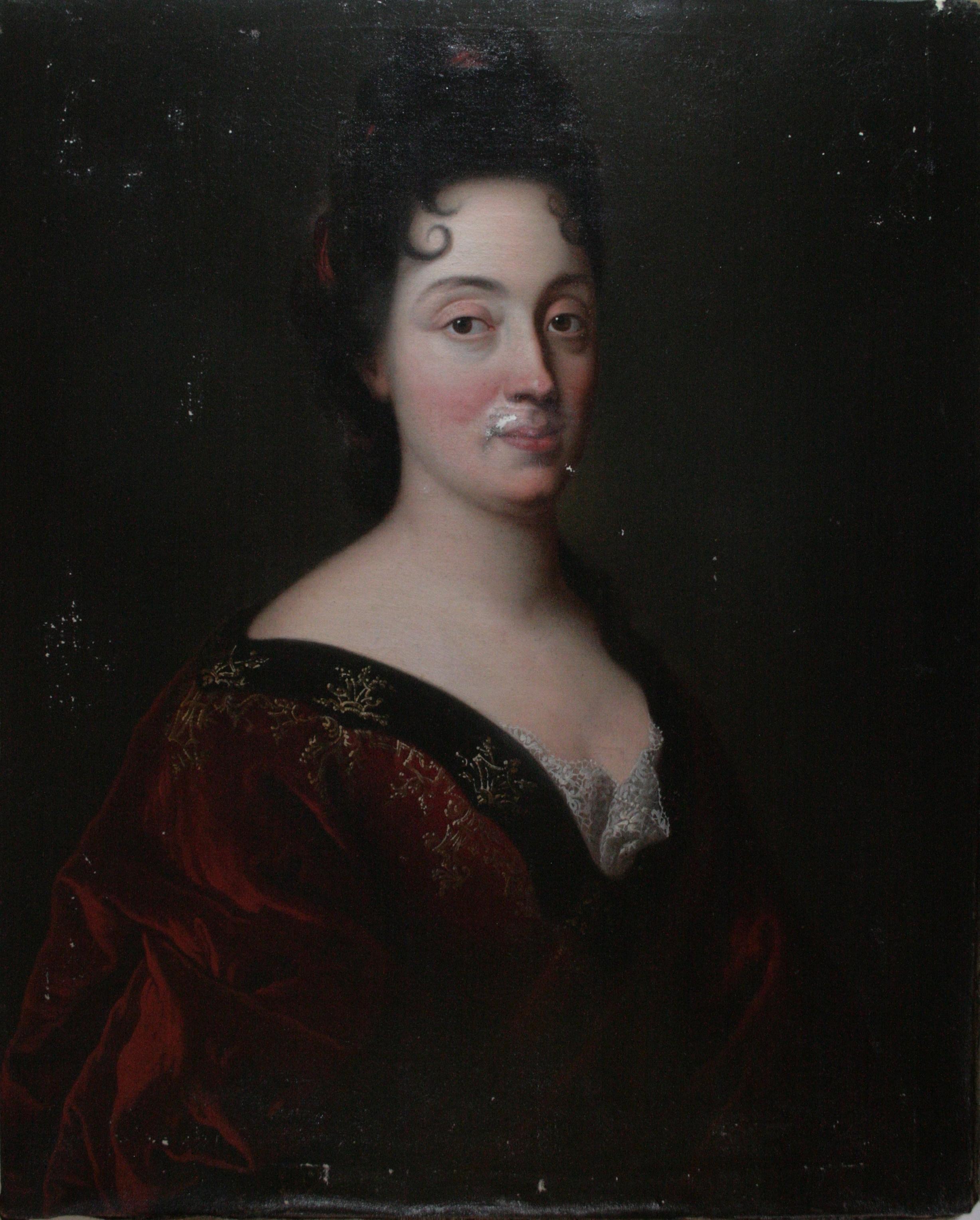 Portrait de Françoise Faudel de Fauveresse (1650-1741) - Anonyme, (hyp. XVIIe et/ou XVIIIe siècle)