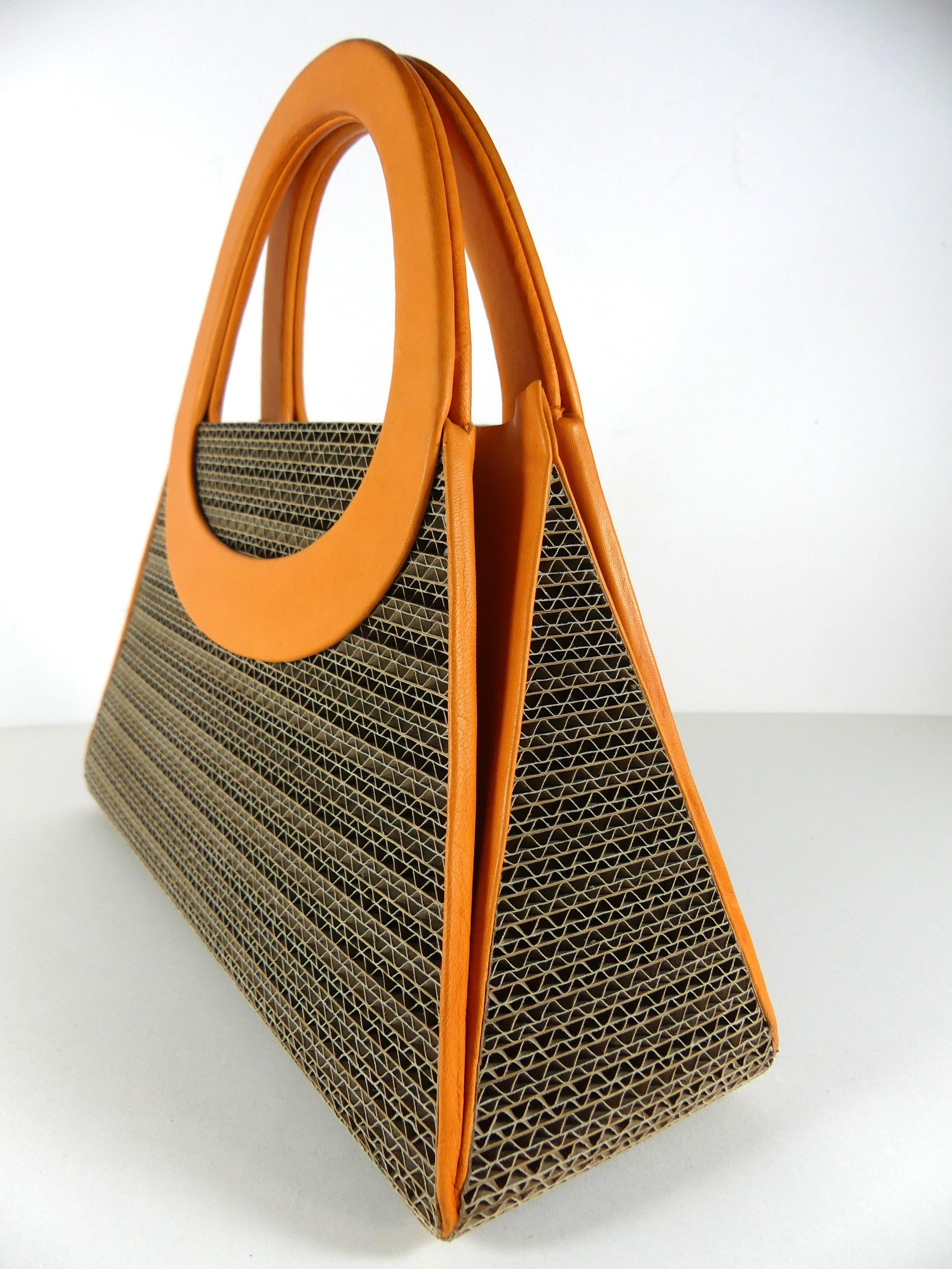 Handbag BRIGITTE, orange