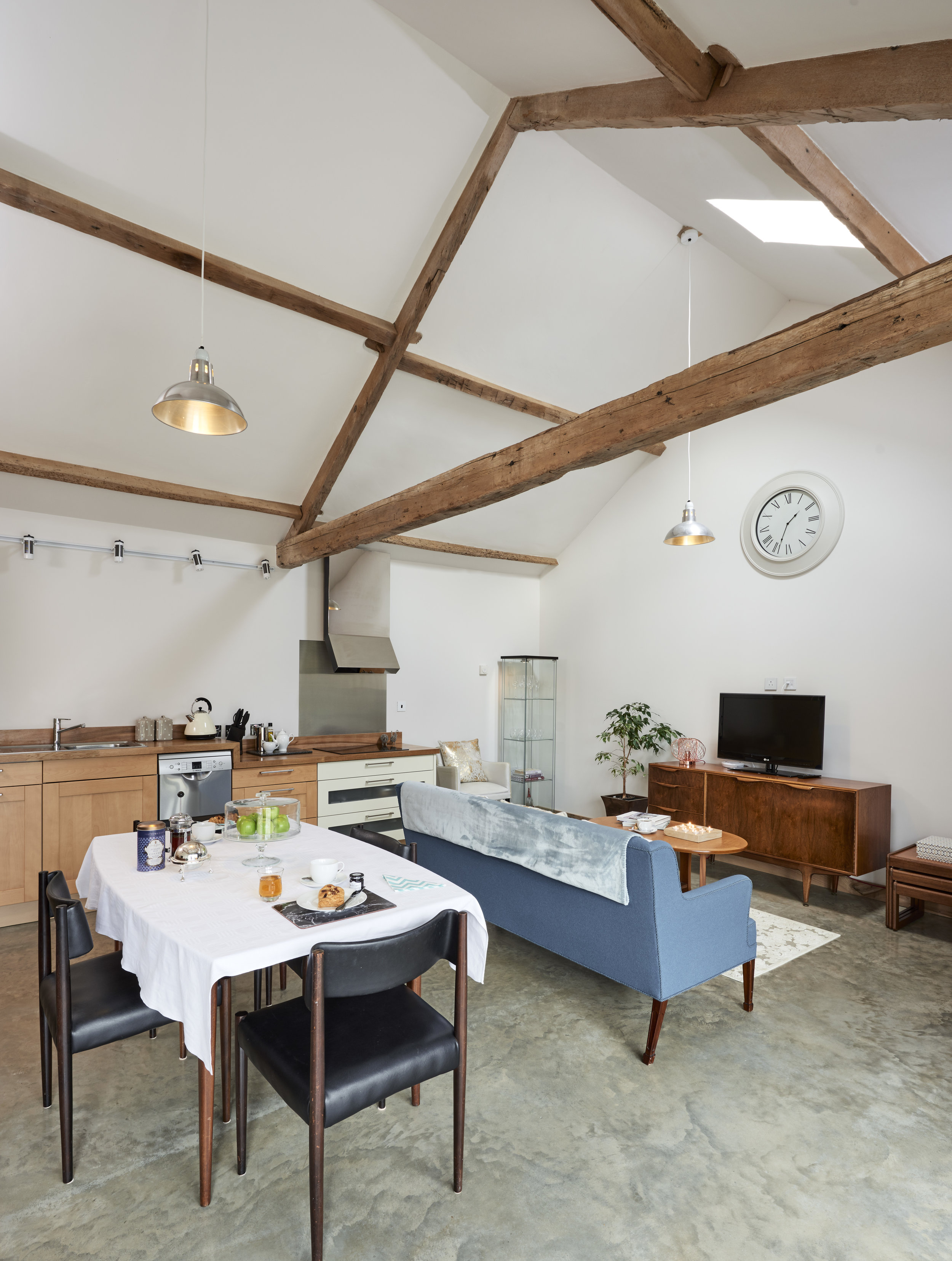 folly Gill Open Plan living space