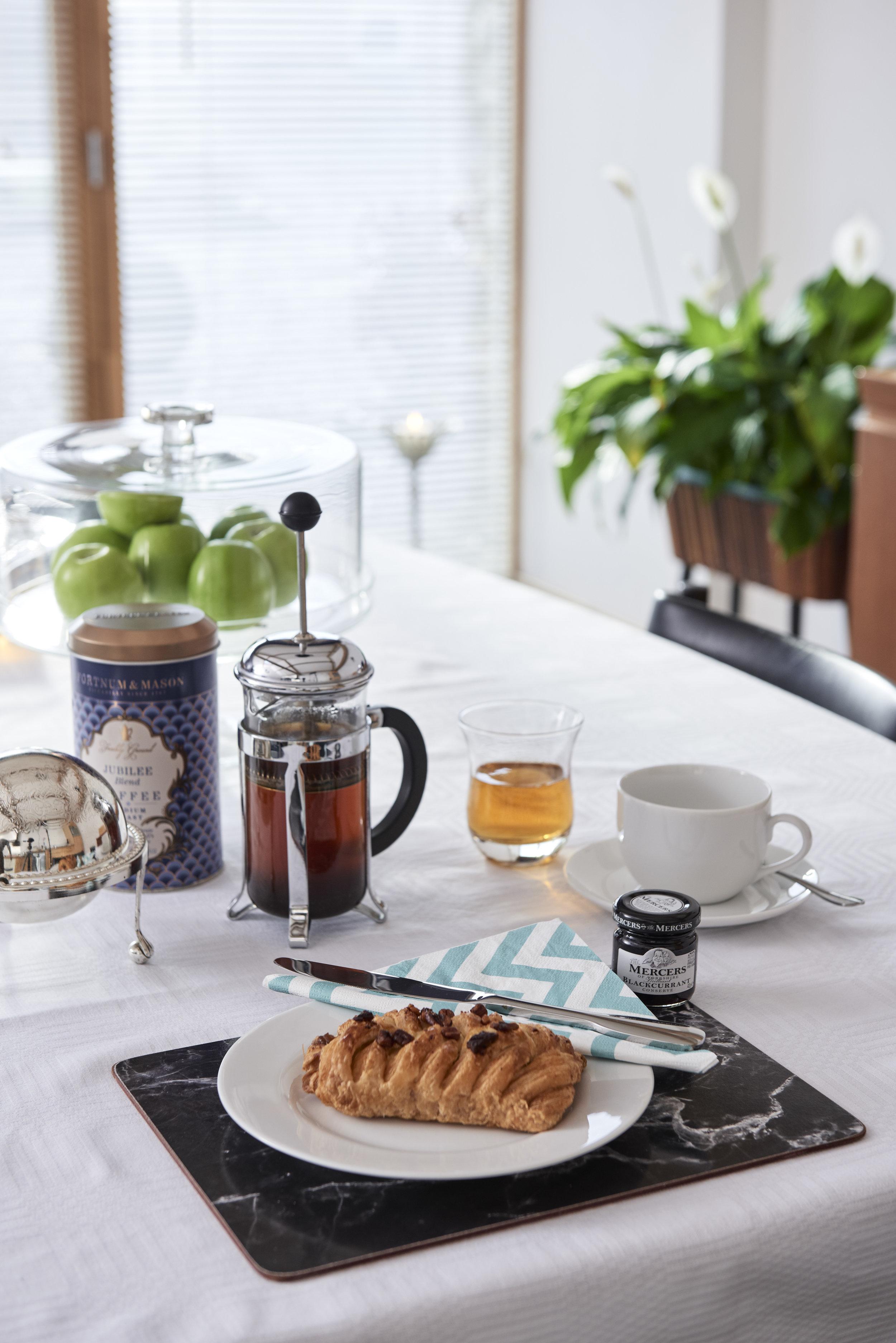 Enjoy a relaxing breakfast or celebrate in style