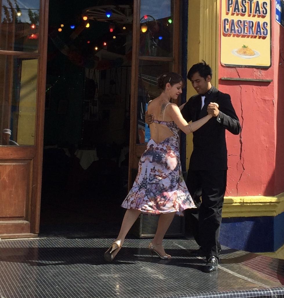 Tango i La Boca, Buenos Aires 2018