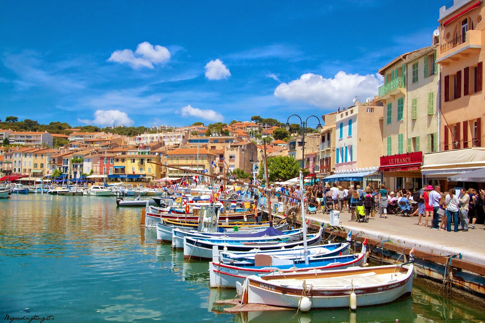 One of my top five destinations in my wanderlust bucket list? Cassis, France.