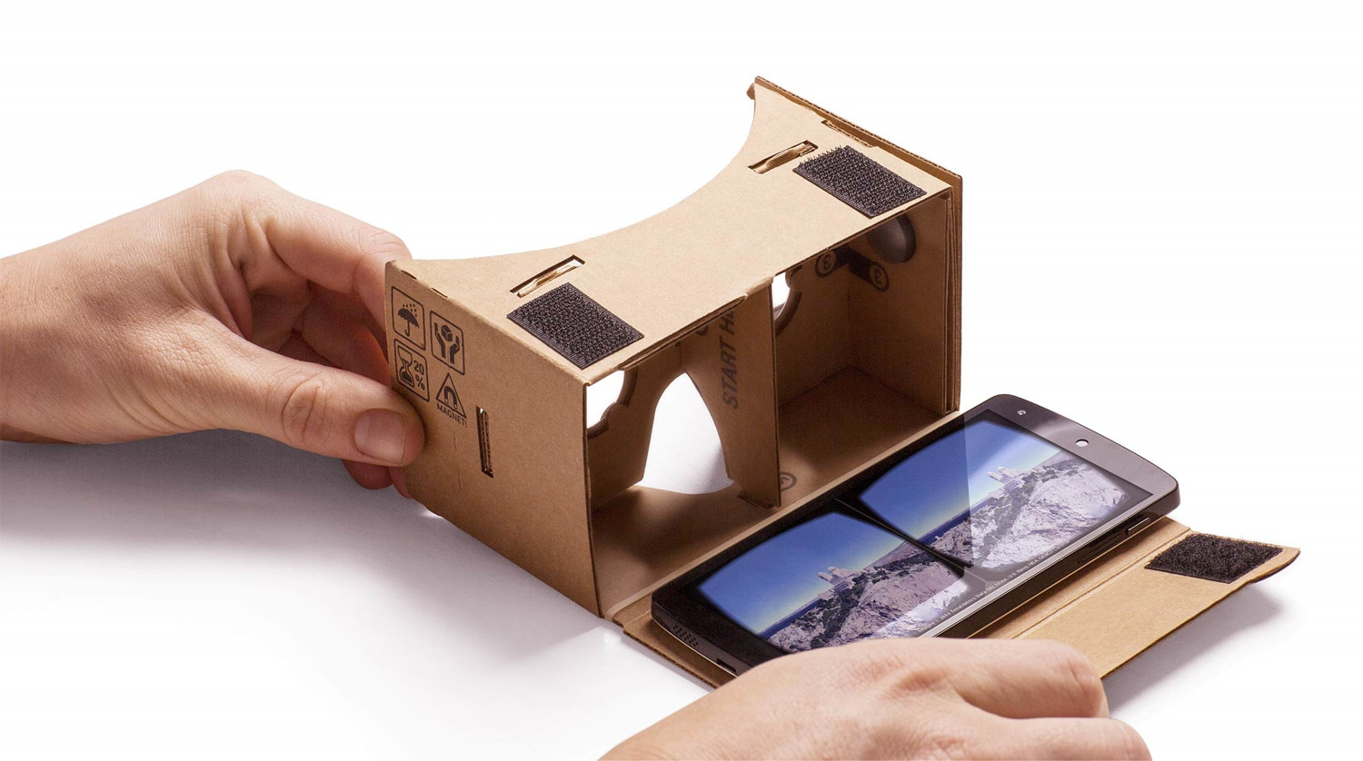 These Apps work well on your device when used in conjuntion with google cardboard or similar.https://vr.google.com/cardboard/