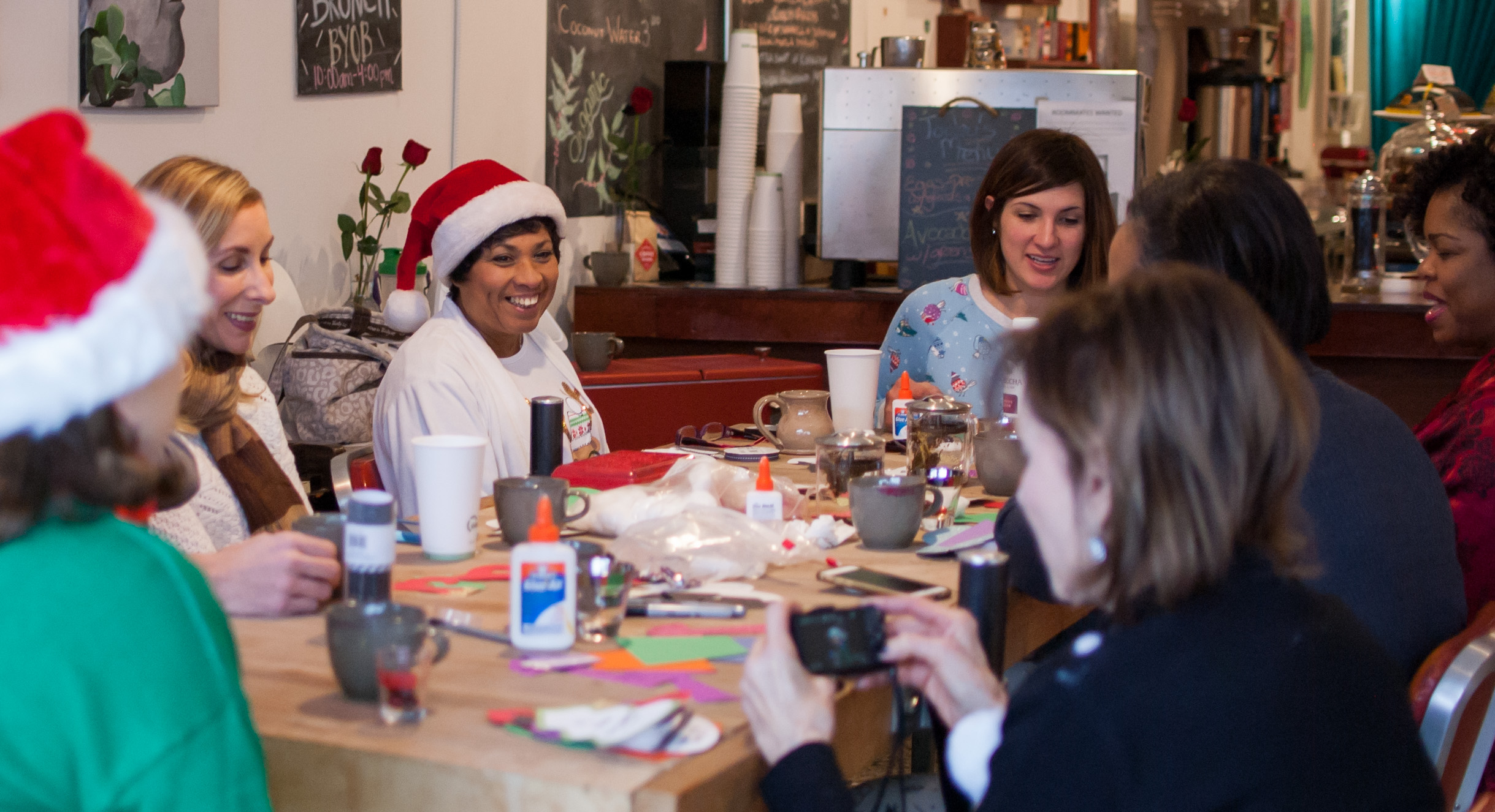 telling christmas stories