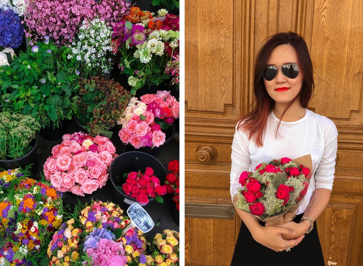 26th birthday flowers in the Marais, Paris