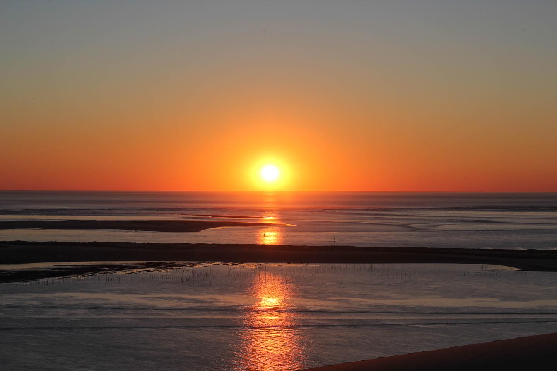 Sunset at Dune de Pyla, Bassin d'Arcachon