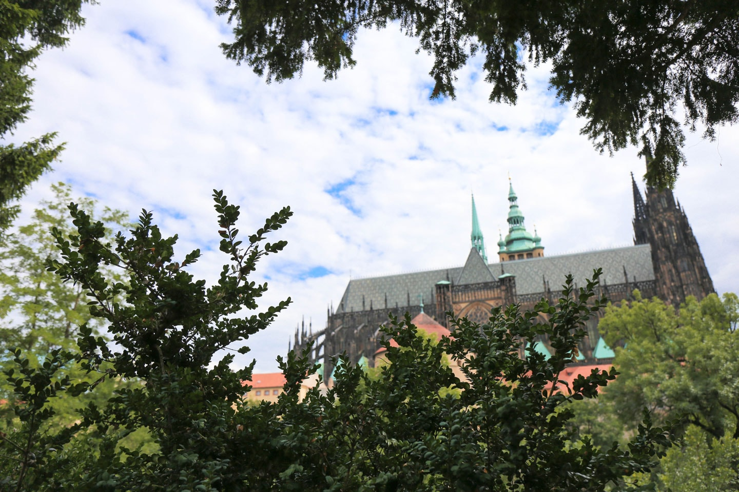 24 hours in prague: Prague castle grounds