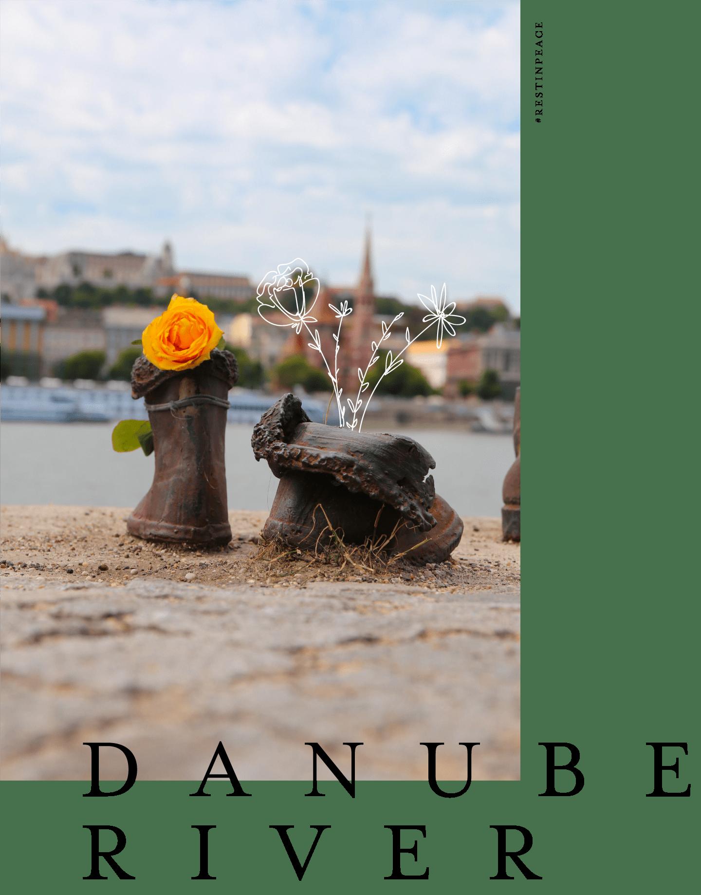 budapest danube river memorial