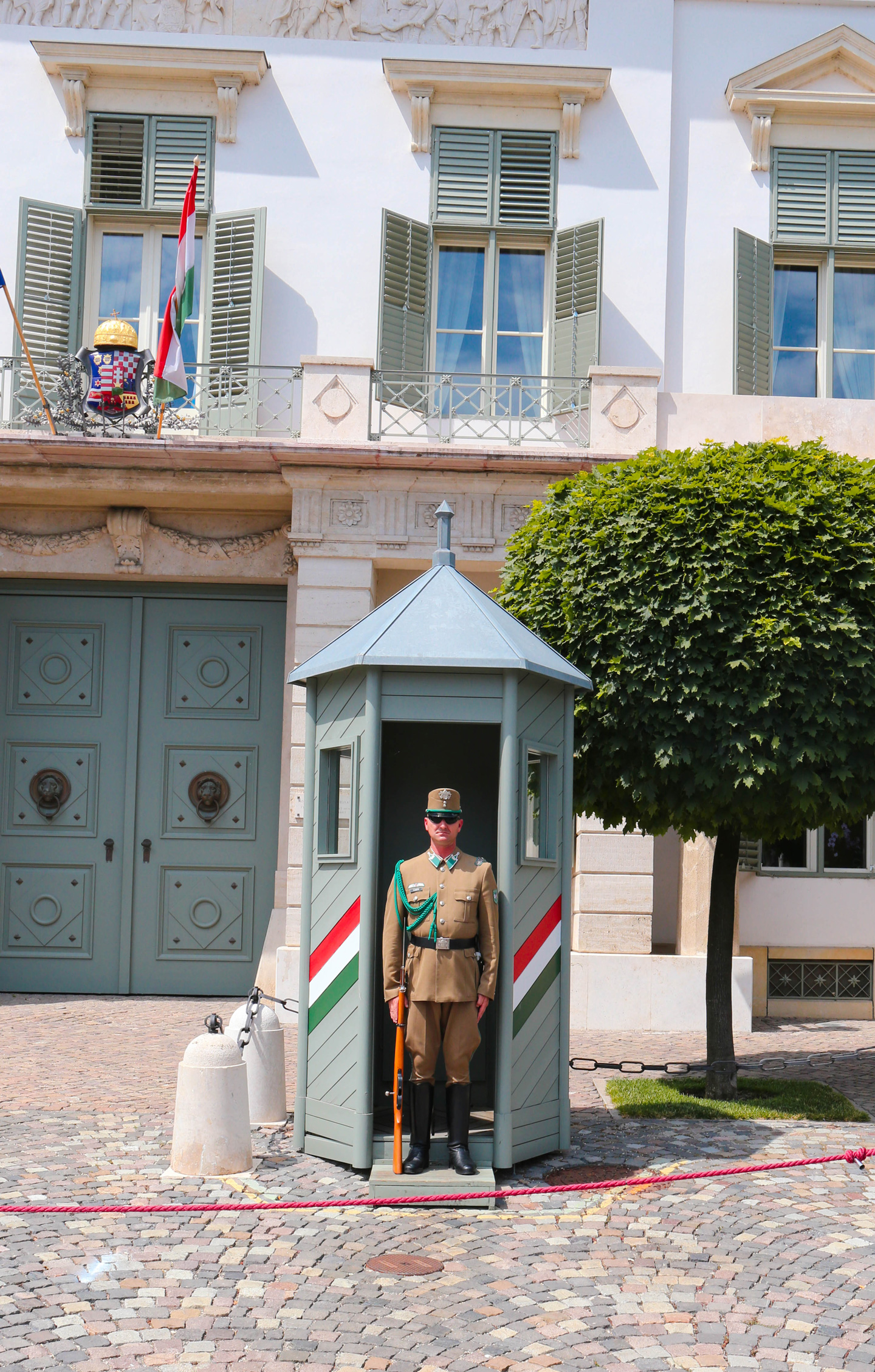 budapest change of guard