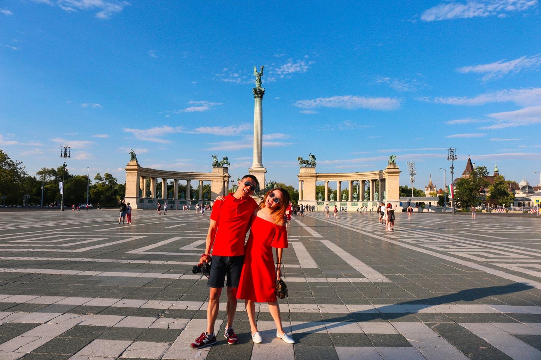 budapest hero's square