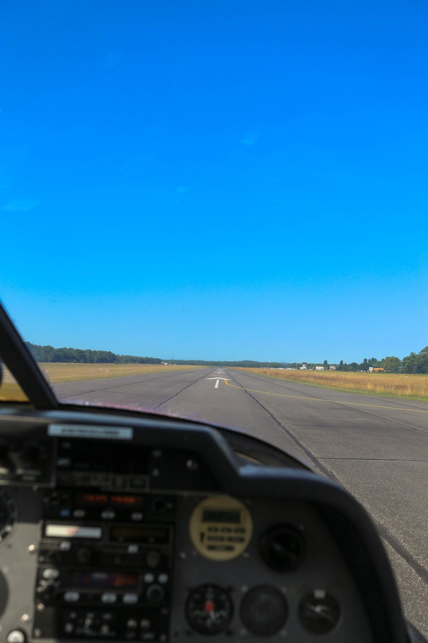 runway view -
