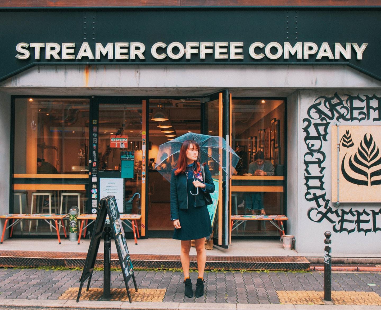 streamer coffee shinsabashi
