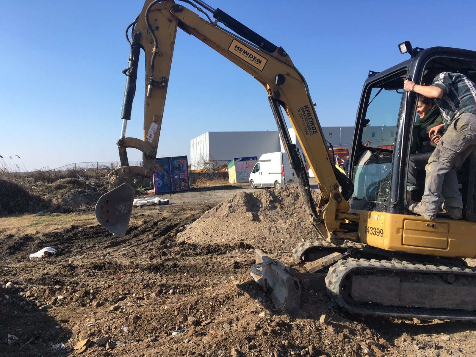 Levelling of the Warehouse Compound
