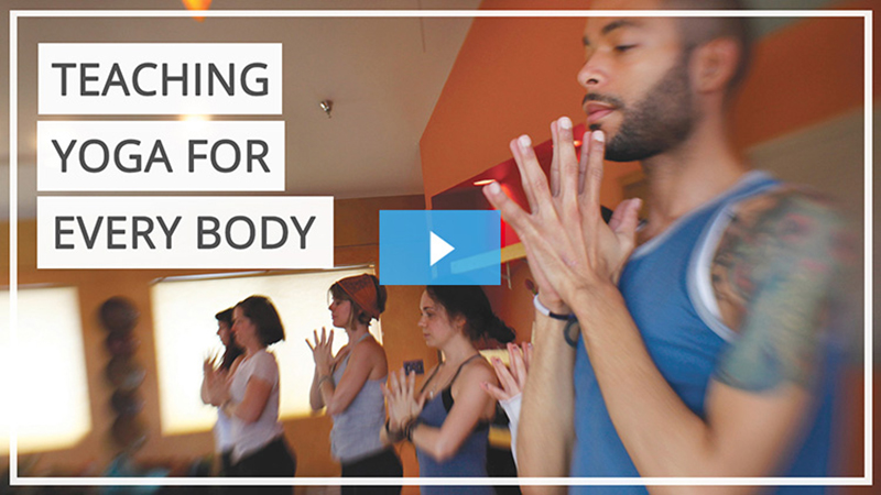 Food and body image issues affect people of all ages, body types, and physical abilities.  What do you do when one of your participants is pregnant, another is a professional athlete, and another has never done yoga before? How do you teach a mindful movement practice that challenges and supports them all?