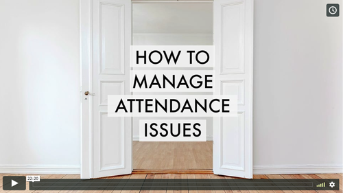 When participants don't show up for sessions, group morale and program impact suffers.  And it's hard to identify a solution if you don't know the cause! In this webinar, you'll learn the most common causes of attendance problems and how to increase engagement without losing rapport.