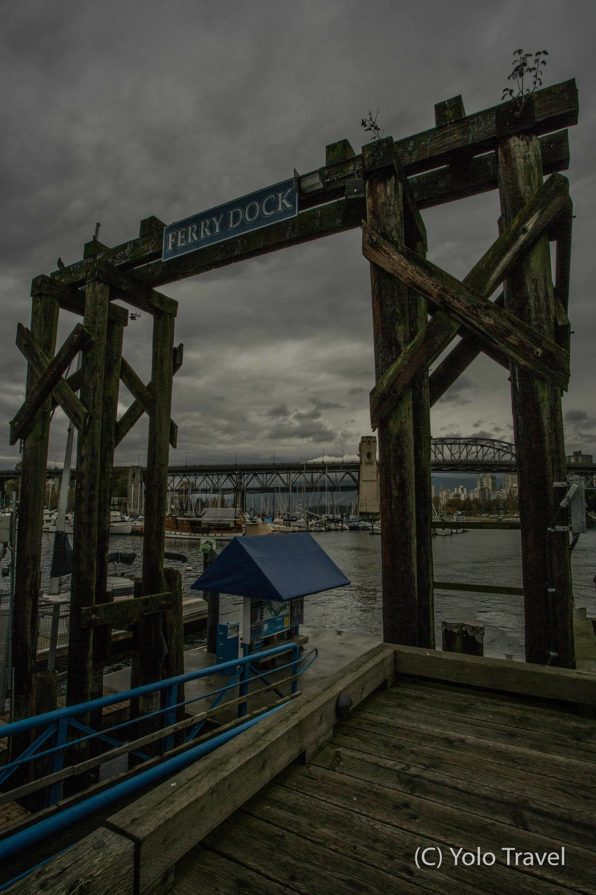 Ferry Dock at Granville Island