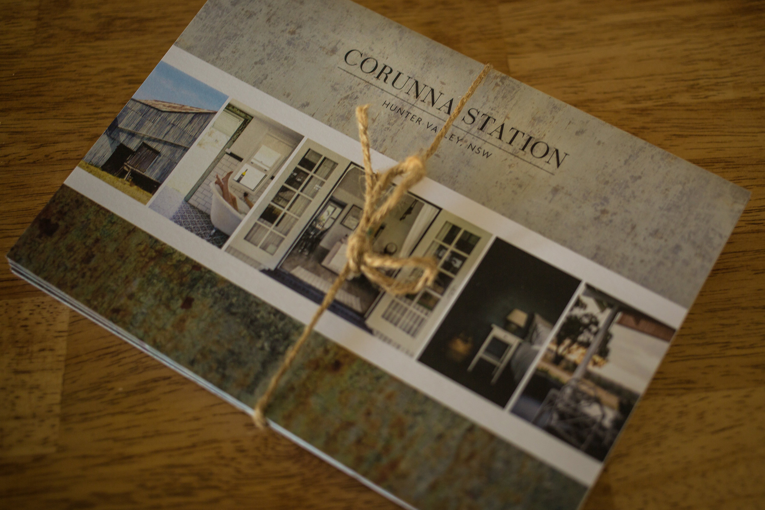 Corunna Station information cards