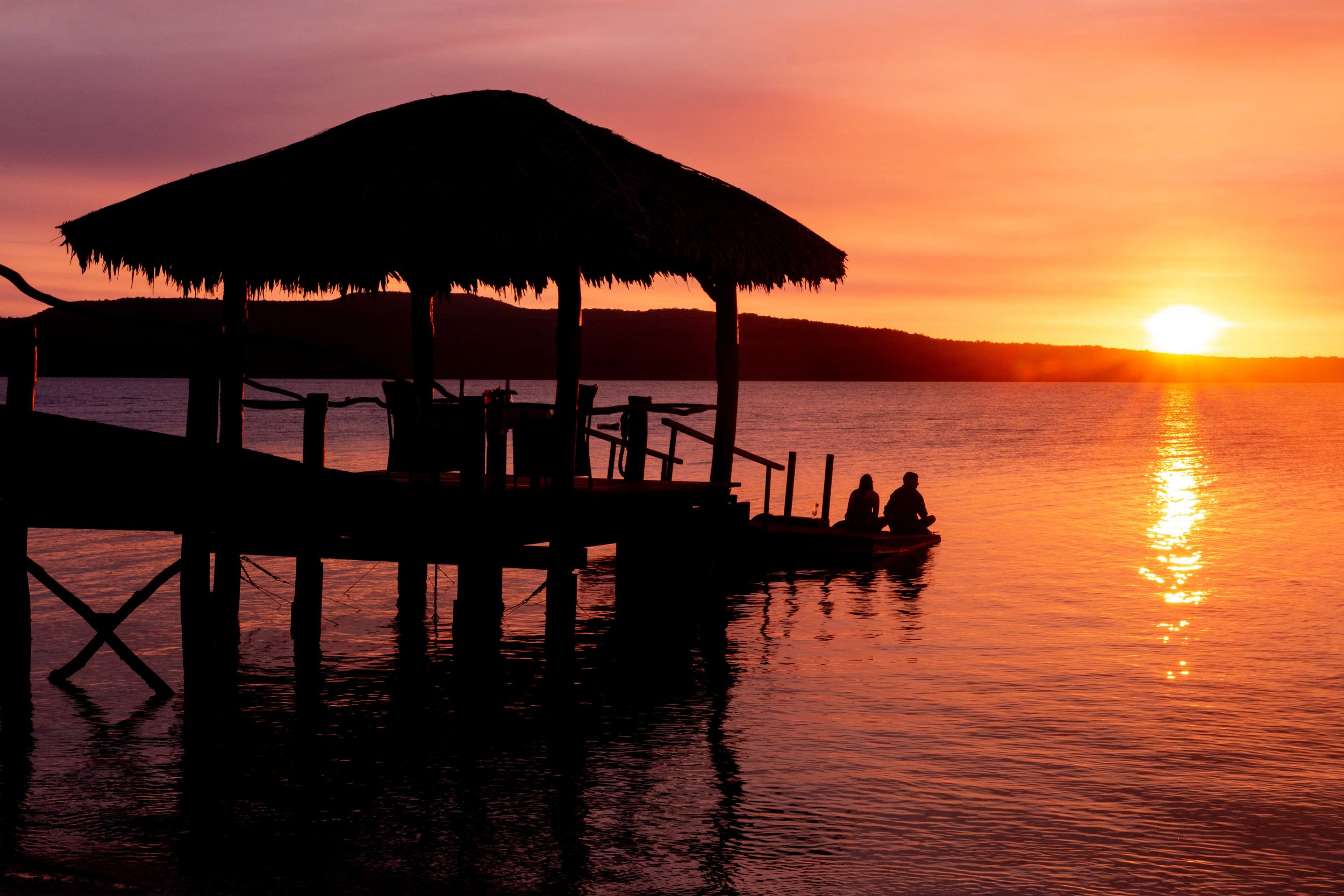 Sunset at The Havannah, Vanuatu