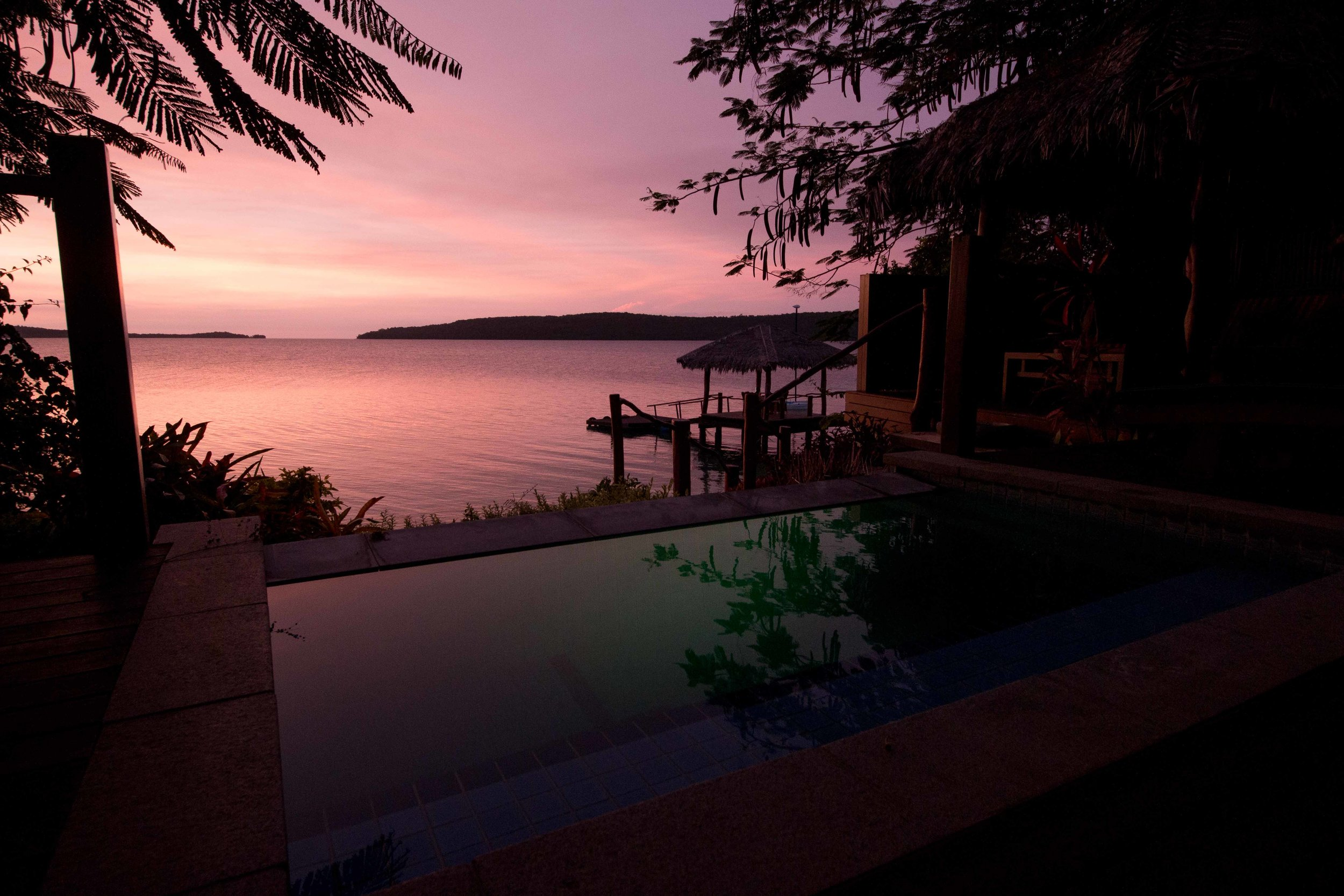 Plunge Pool at The Havannah, Vanuatu
