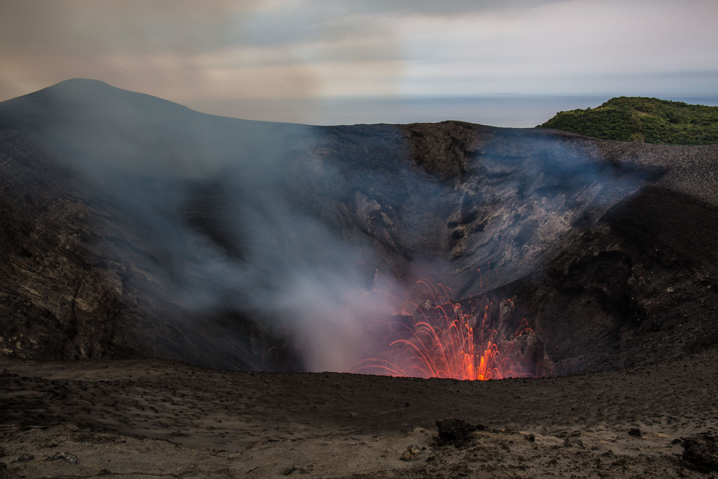 Mt Yasur Volcano with the Sea in the Background, Tanna, Vanuatu.jpg