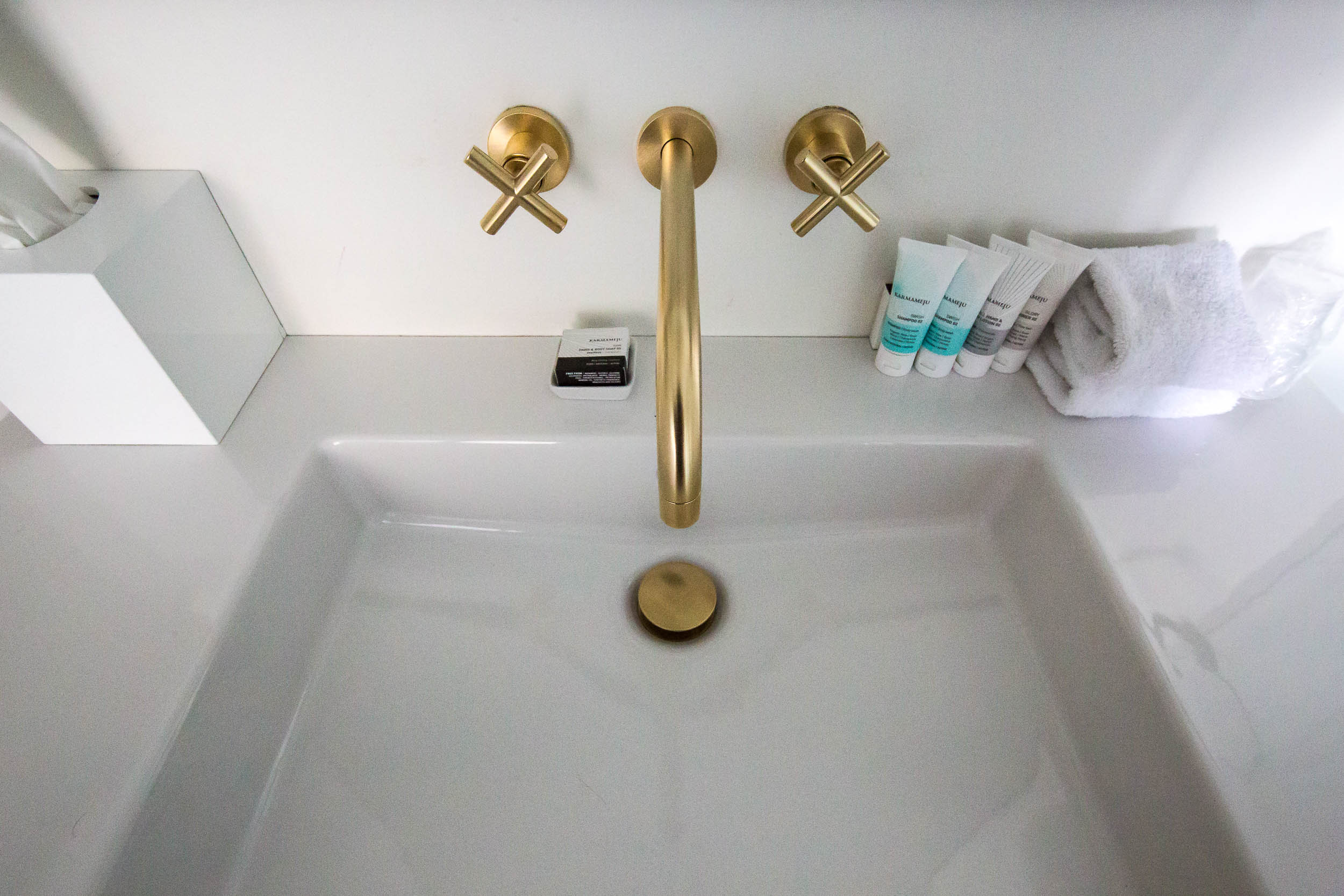 Bathroom in the Executive Double Delux View Room, Hotel 71 Nyhavn, Copenhagen-3.jpg
