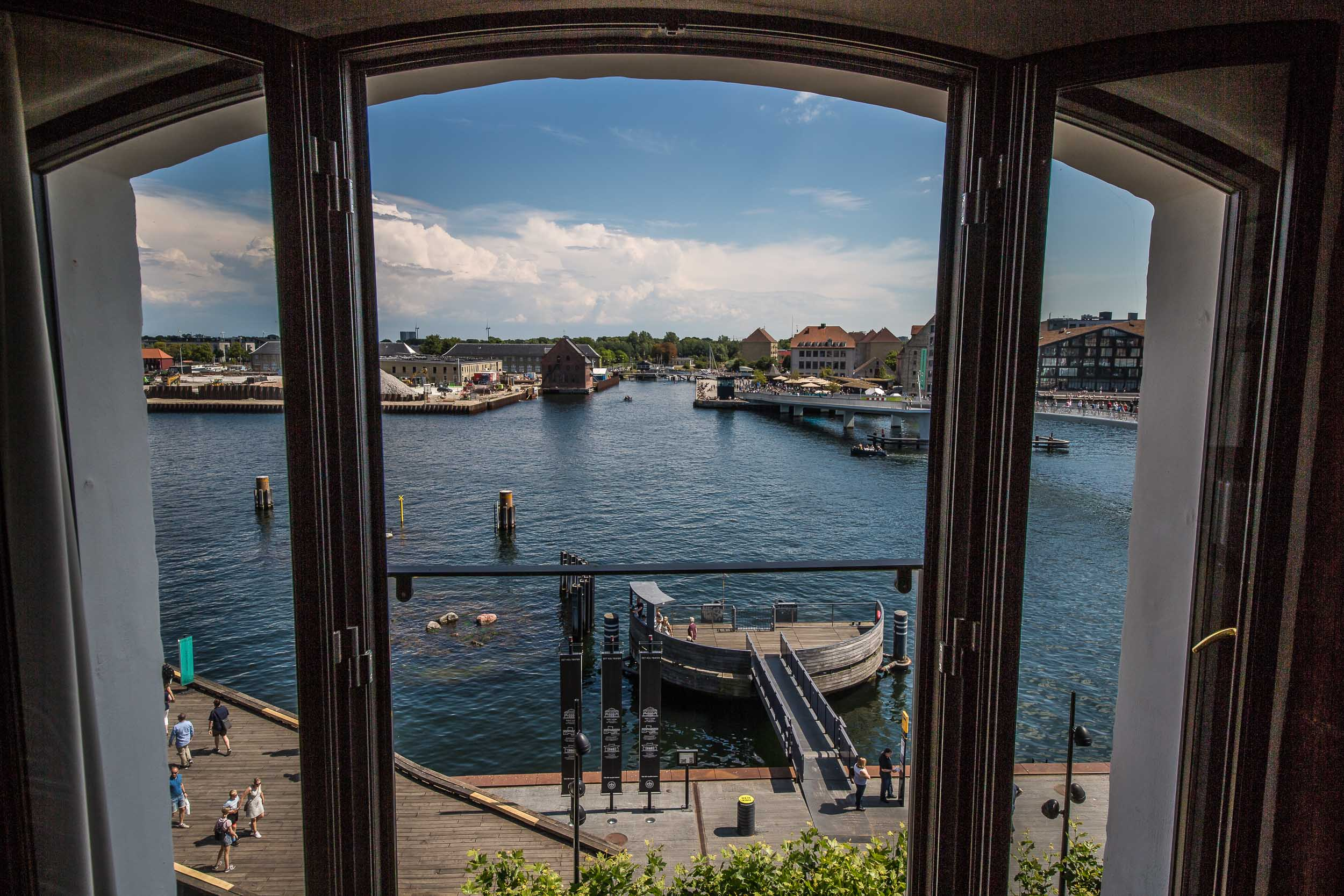 The View from the Executive Double Delux View Room, Hotel 71 Nyhavn, Copenhagen.jpg