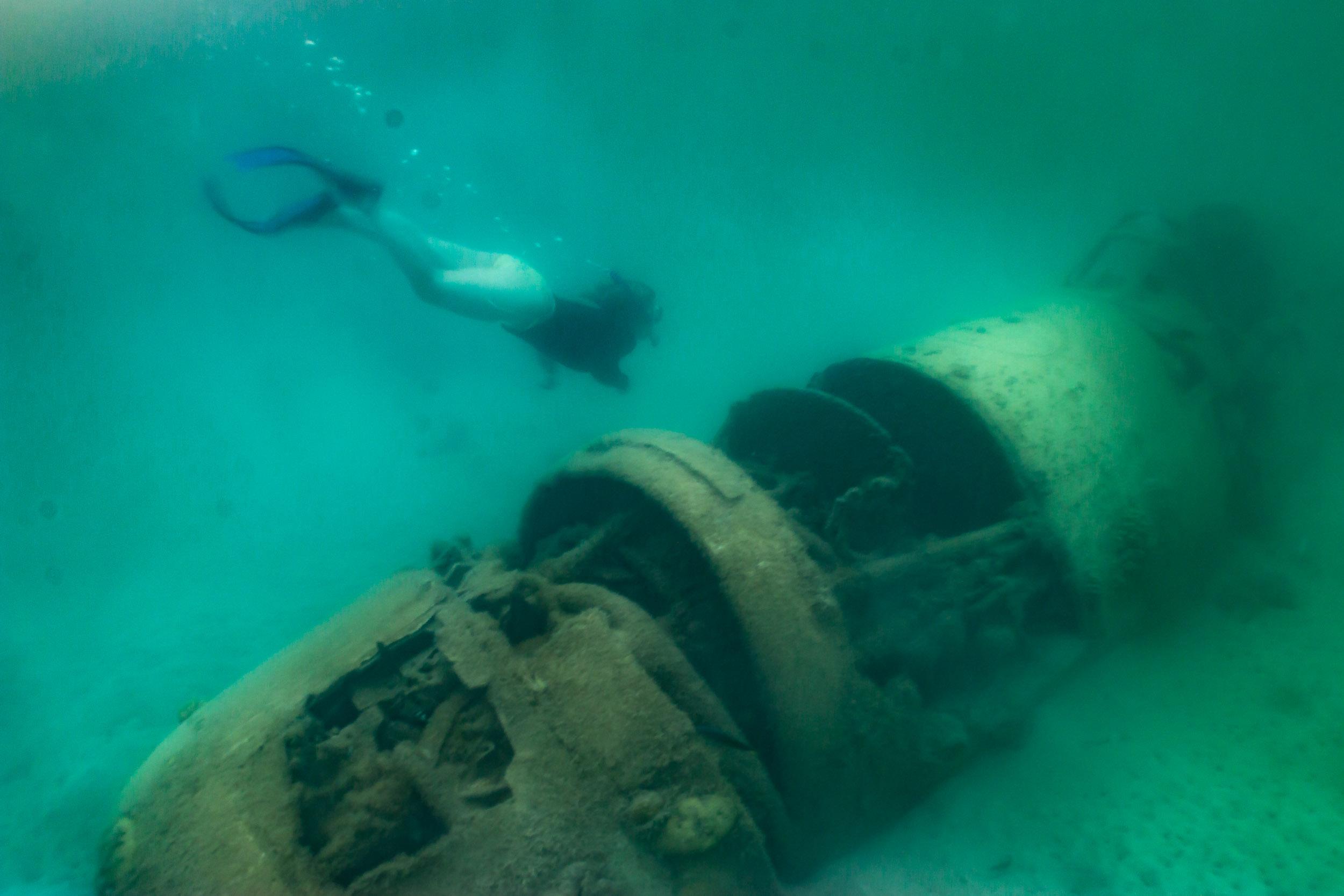 World War II Plane - me snorkelling.jpg