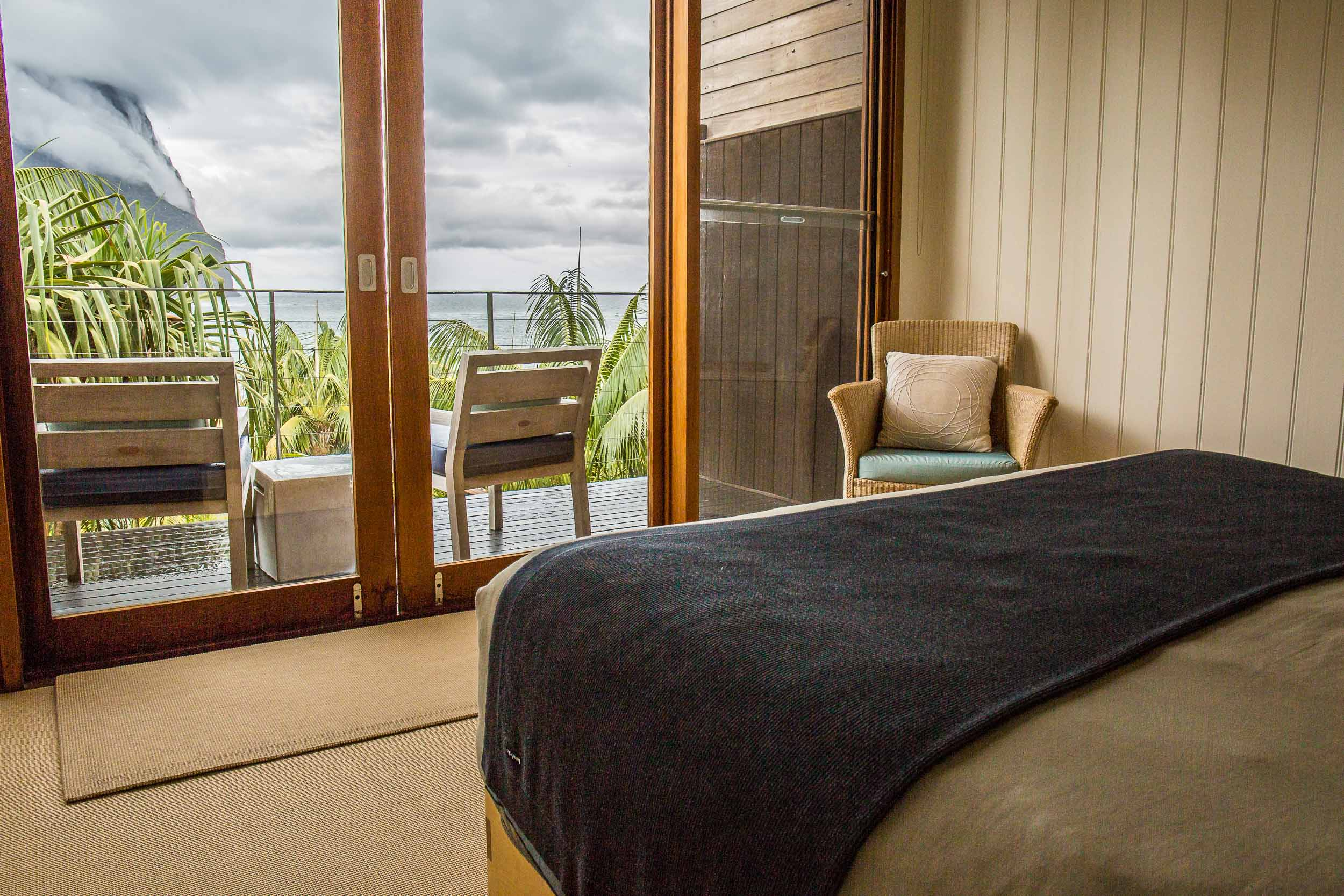 Capella Lodge, Lagoon Loft Bedroom View, Lord Howe Island