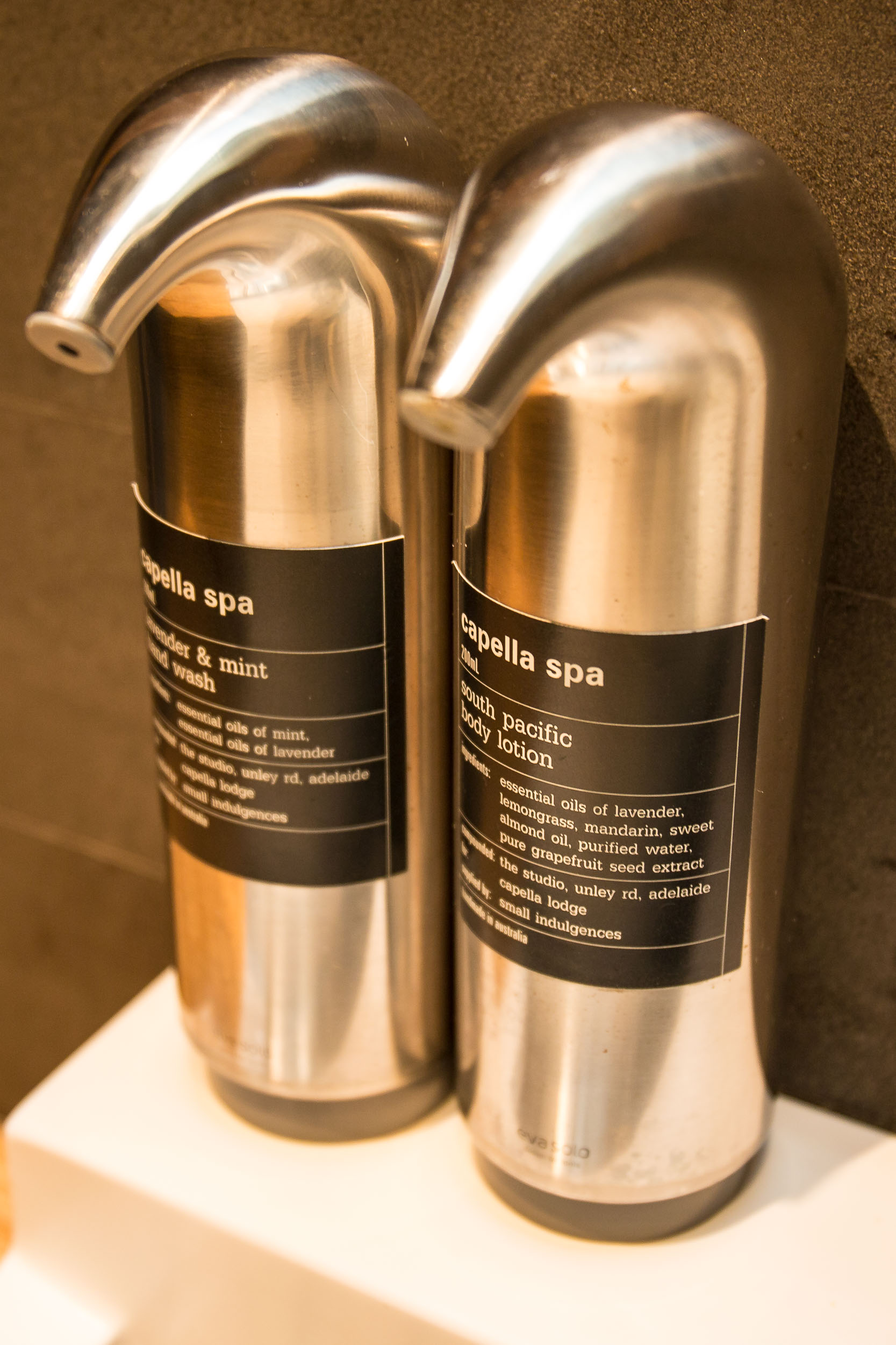 Capella Lodge, Bathroom Amenities, Lord Howe Island