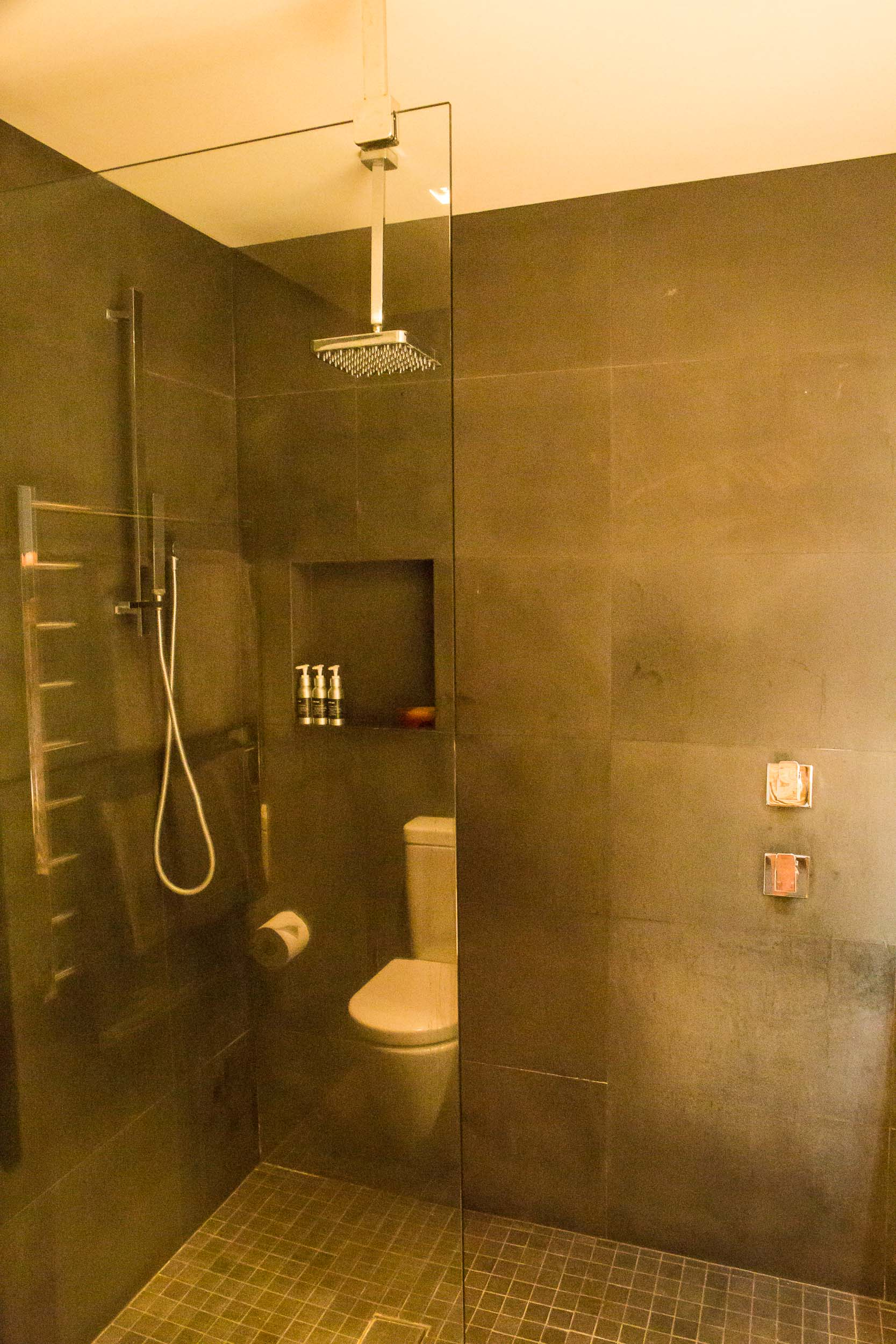 Capella Lodge, Lagoon Loft Shower, Lord Howe Island