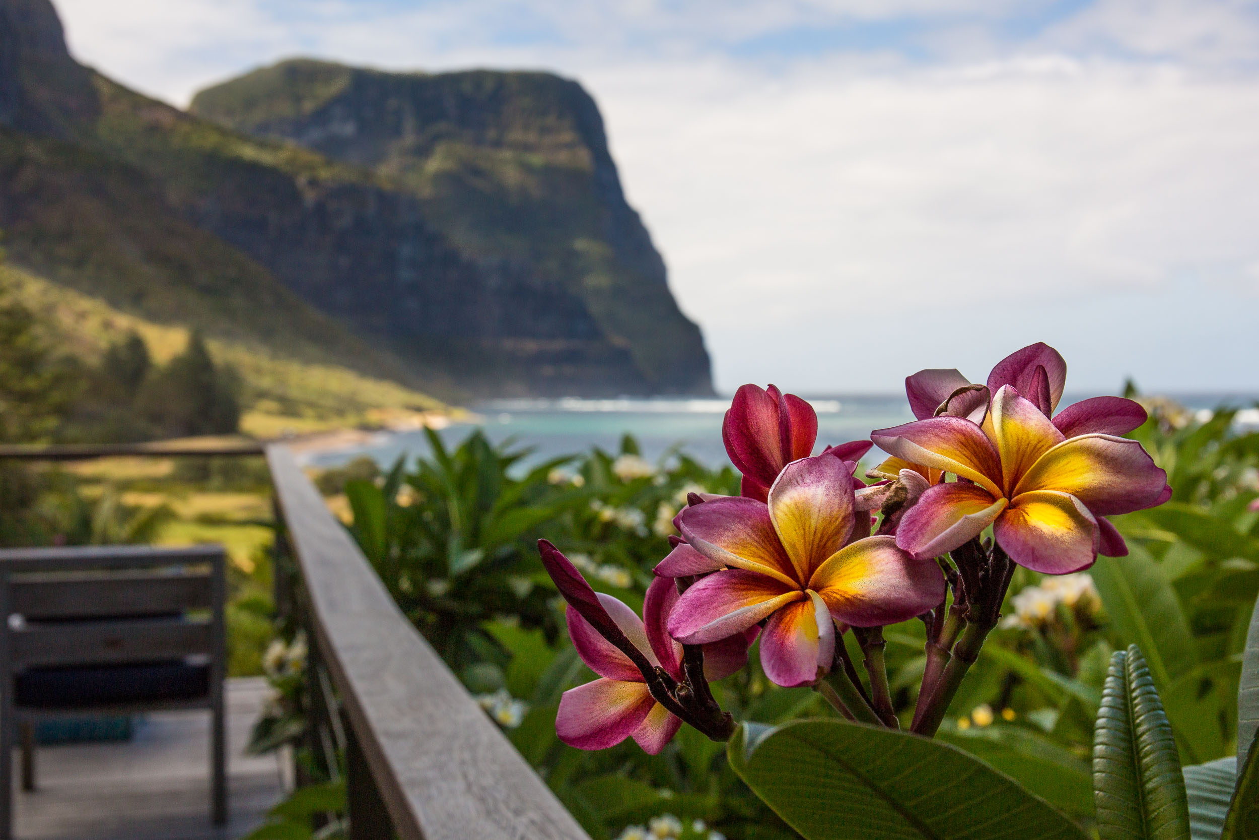 Capella Lodge colours, Lord Howe Island