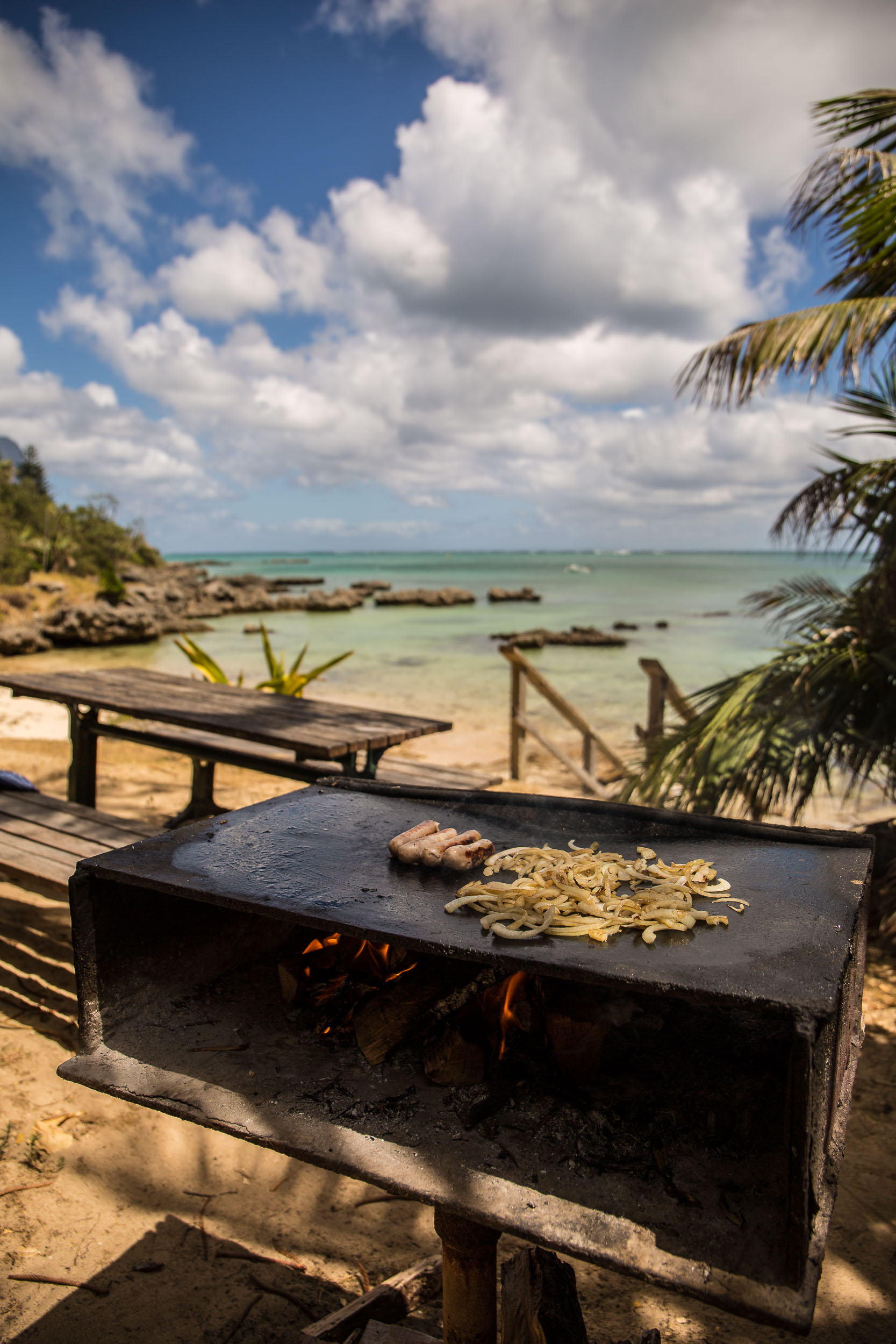 Picnic Lunch on a Beach Side Barbecue, Capella Lodge, Lord Howe Island