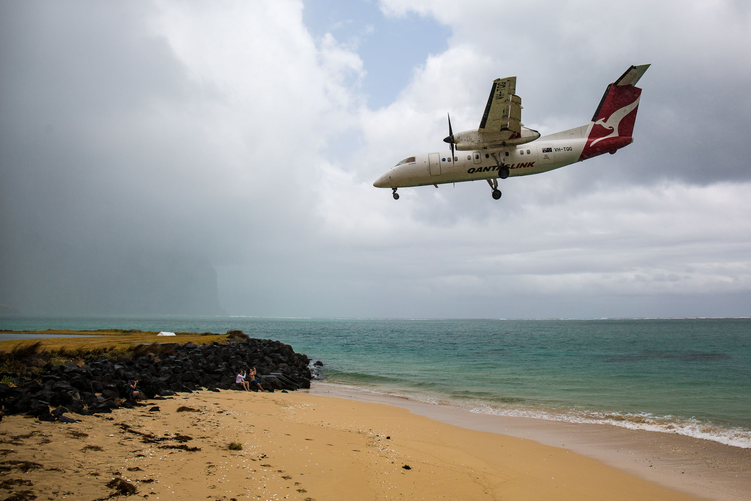 Lord Howe Island airport's is accessible to say the least, Australia