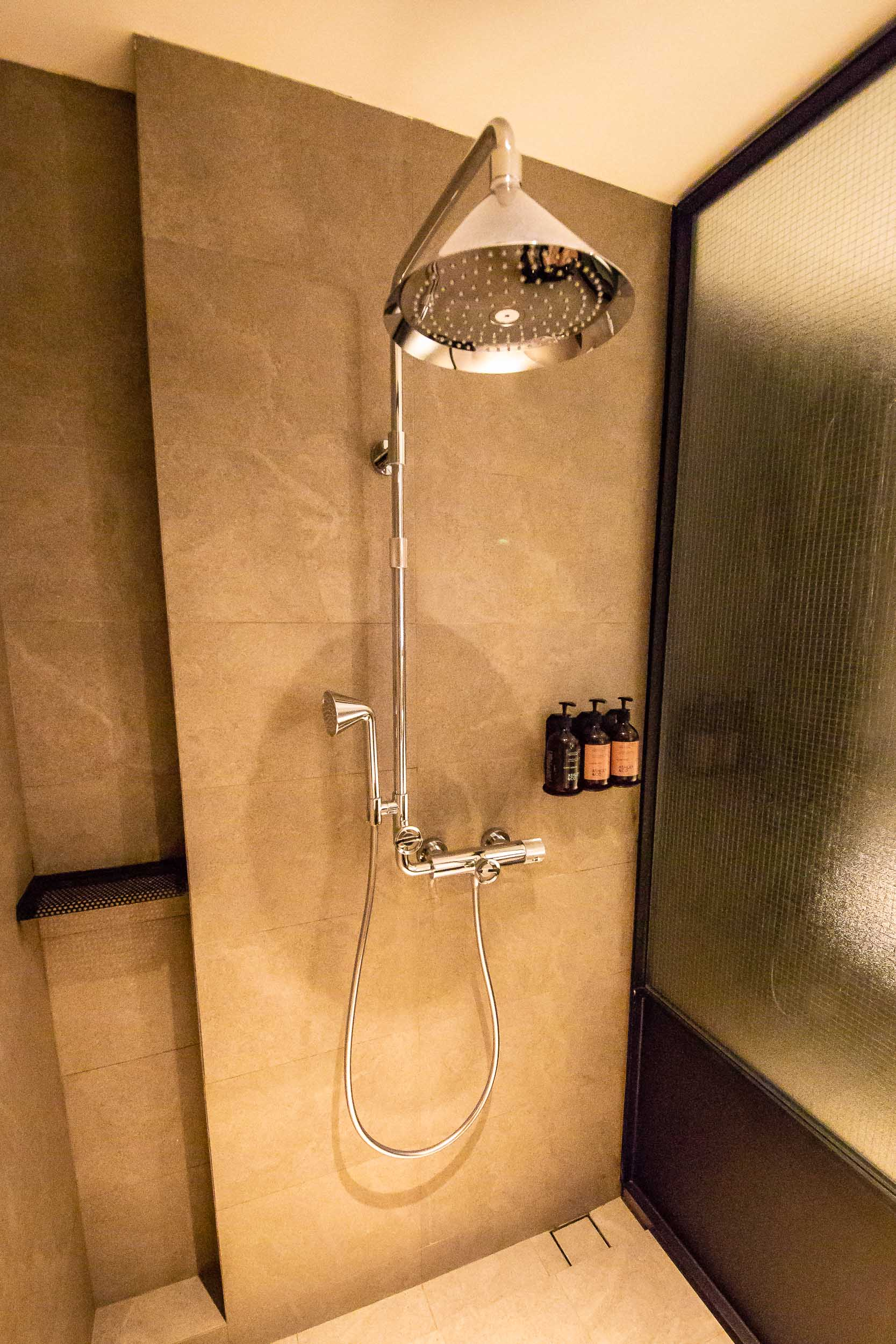 River View Room, Rainfall Shower, The Warehouse Hotel, Singapore