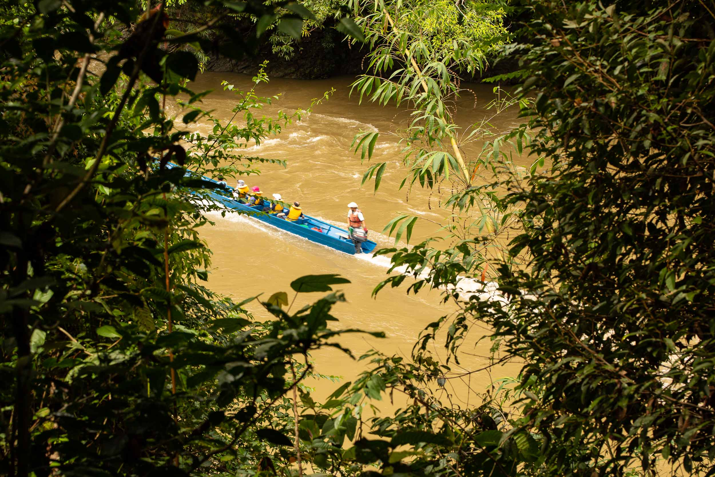 Journey by longboat to Ulu Temburong National Park