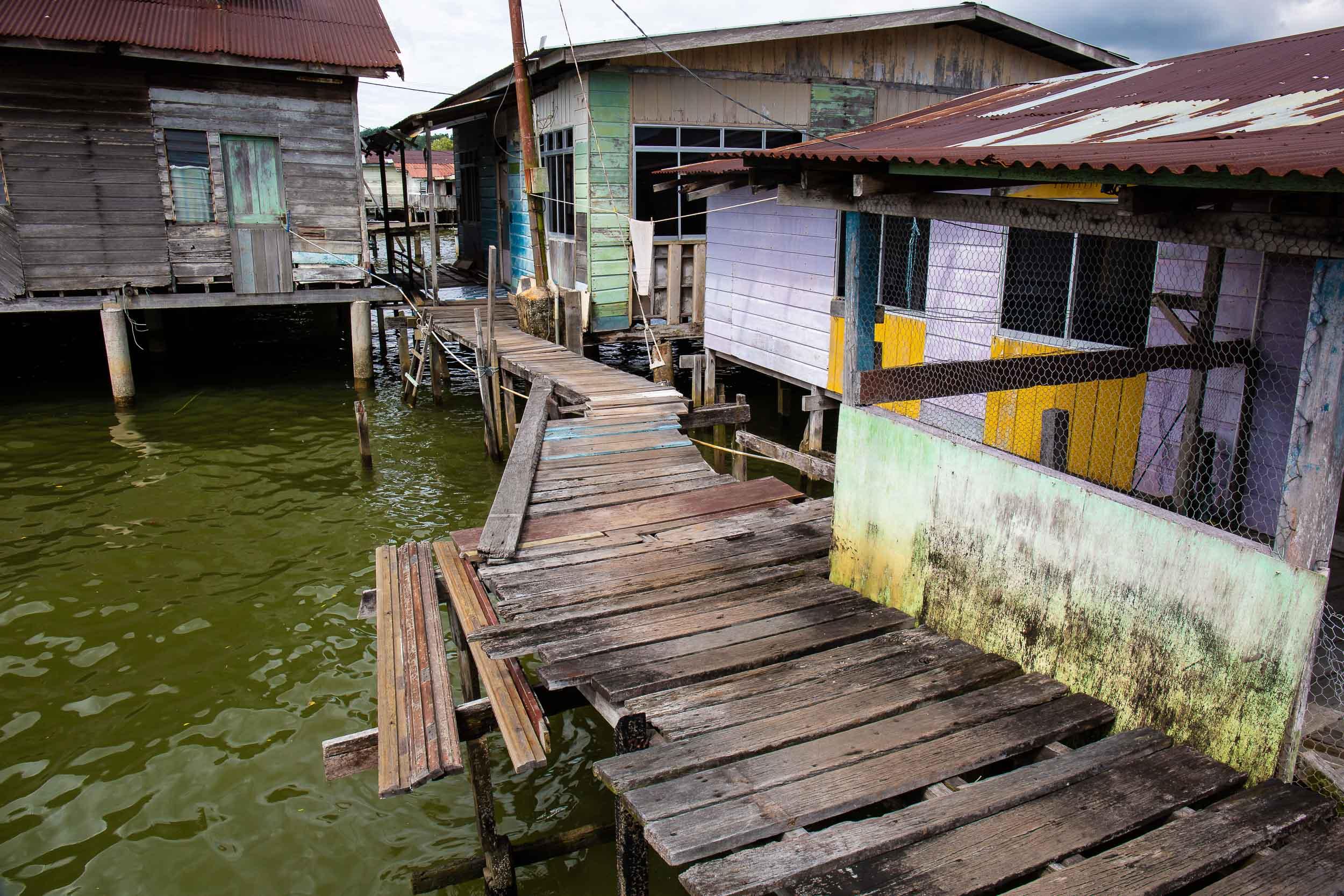 Water village boardwalk, Bandar Seri Begawan, Brunei