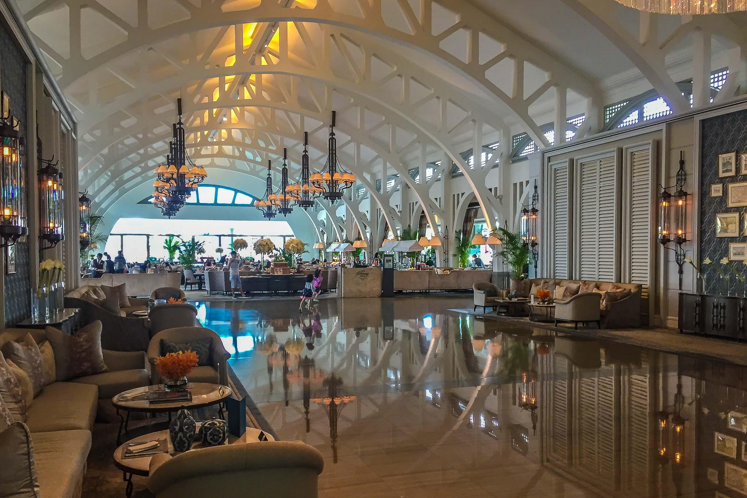 Clifford Pier Restaurant, Fullerton Bay Hotel, Singapore