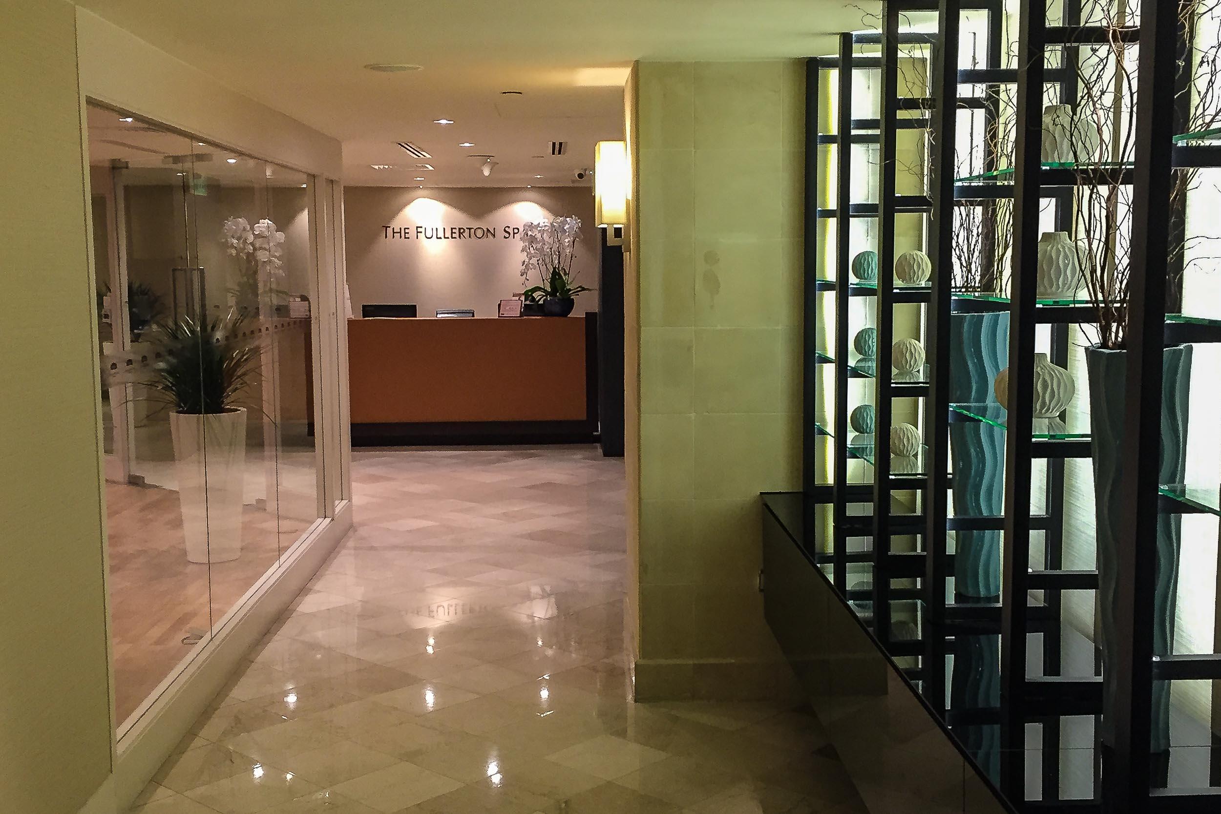 Reception at the Fullerton Hotel Spa.jpg