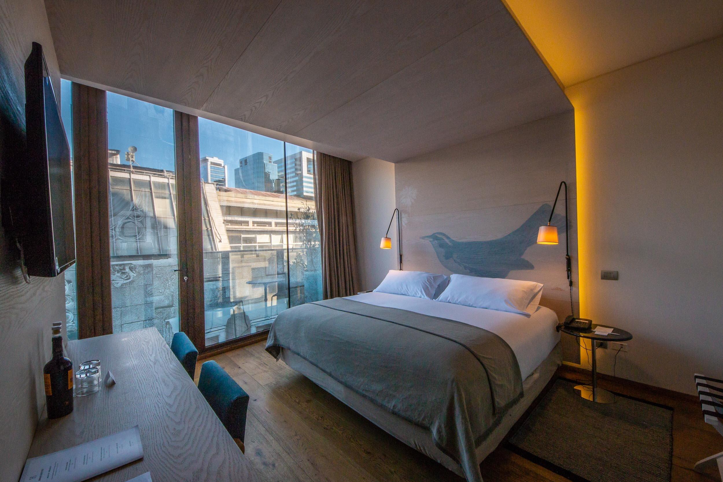 Room 65, at Hotel Magnolia, Santiago, Chile