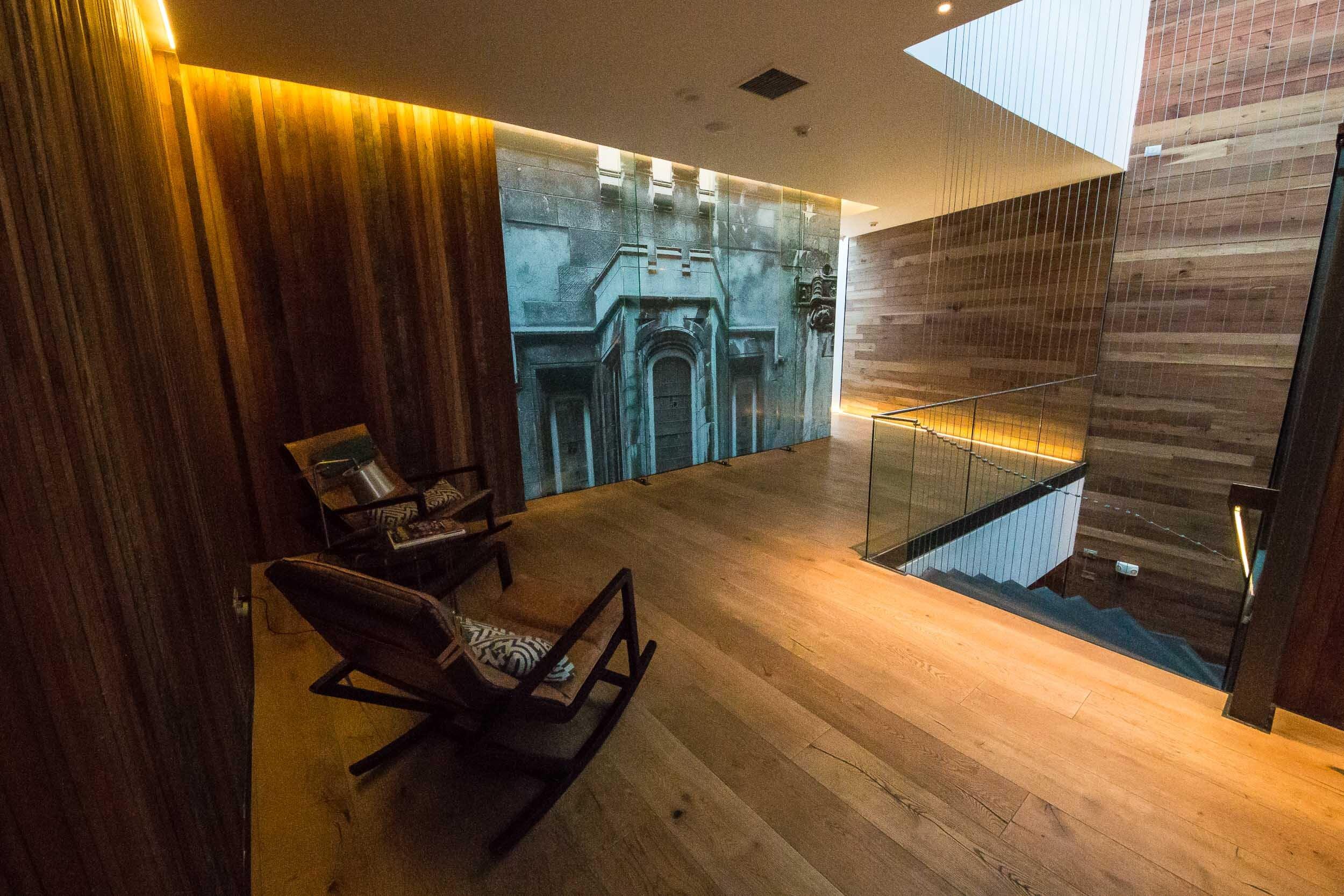 The new upper floors, Hotal Magnolia, Santiago, Chile