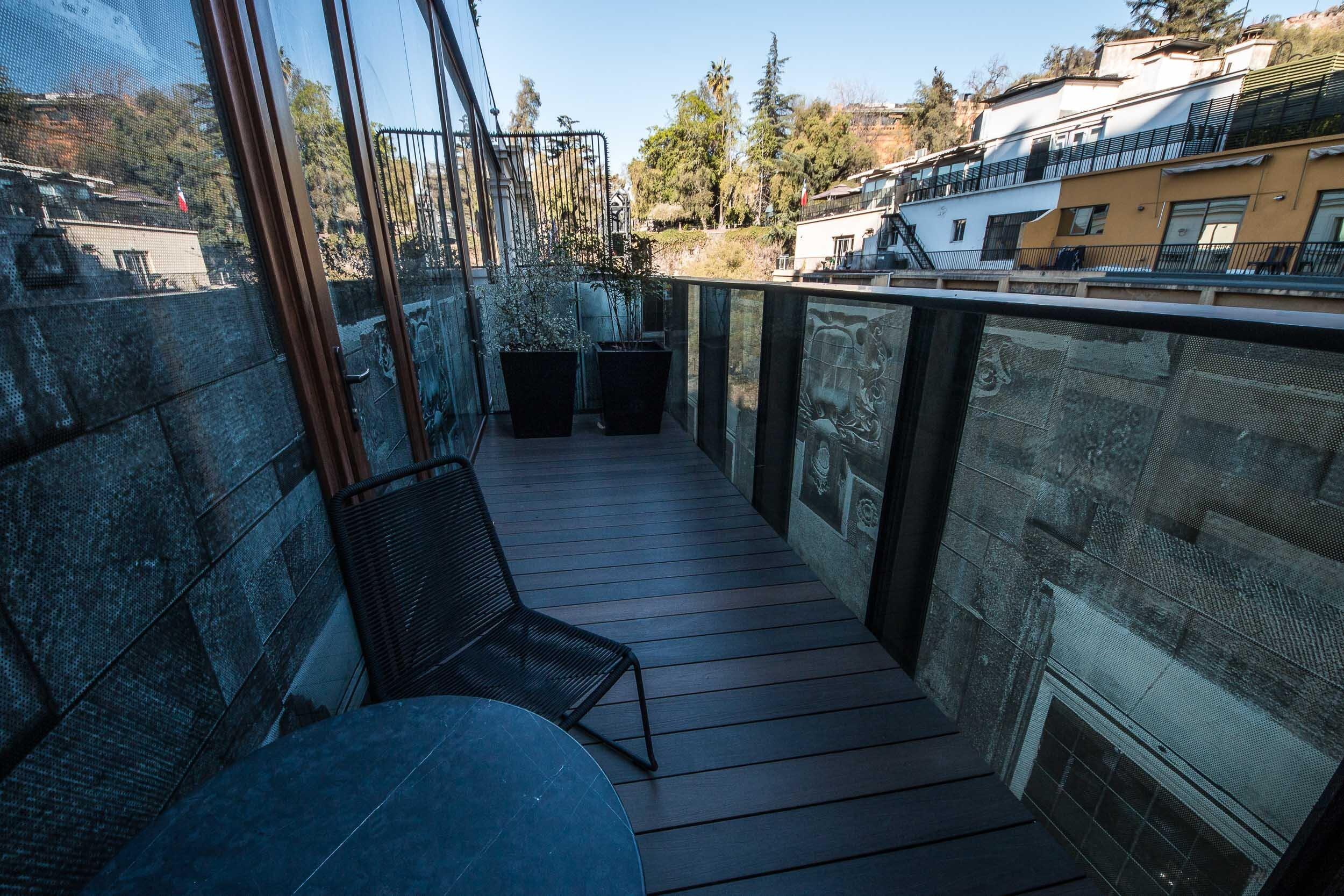 Room 65 Balcony, Hotel Magnolia, Santiago, Chile