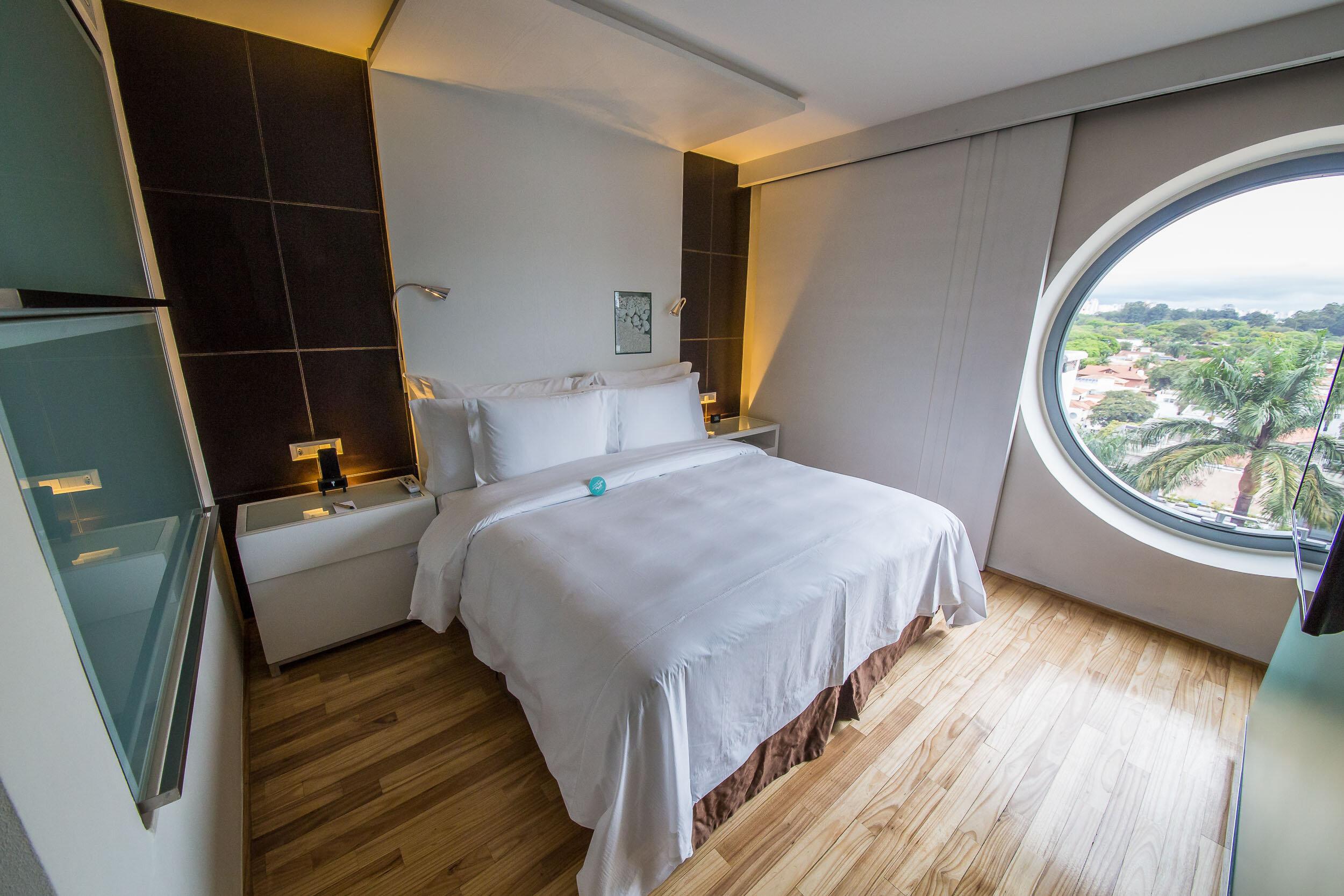 Bedroom, Deluxe Room, Hotel Unique, Sao Paulo, Brazil