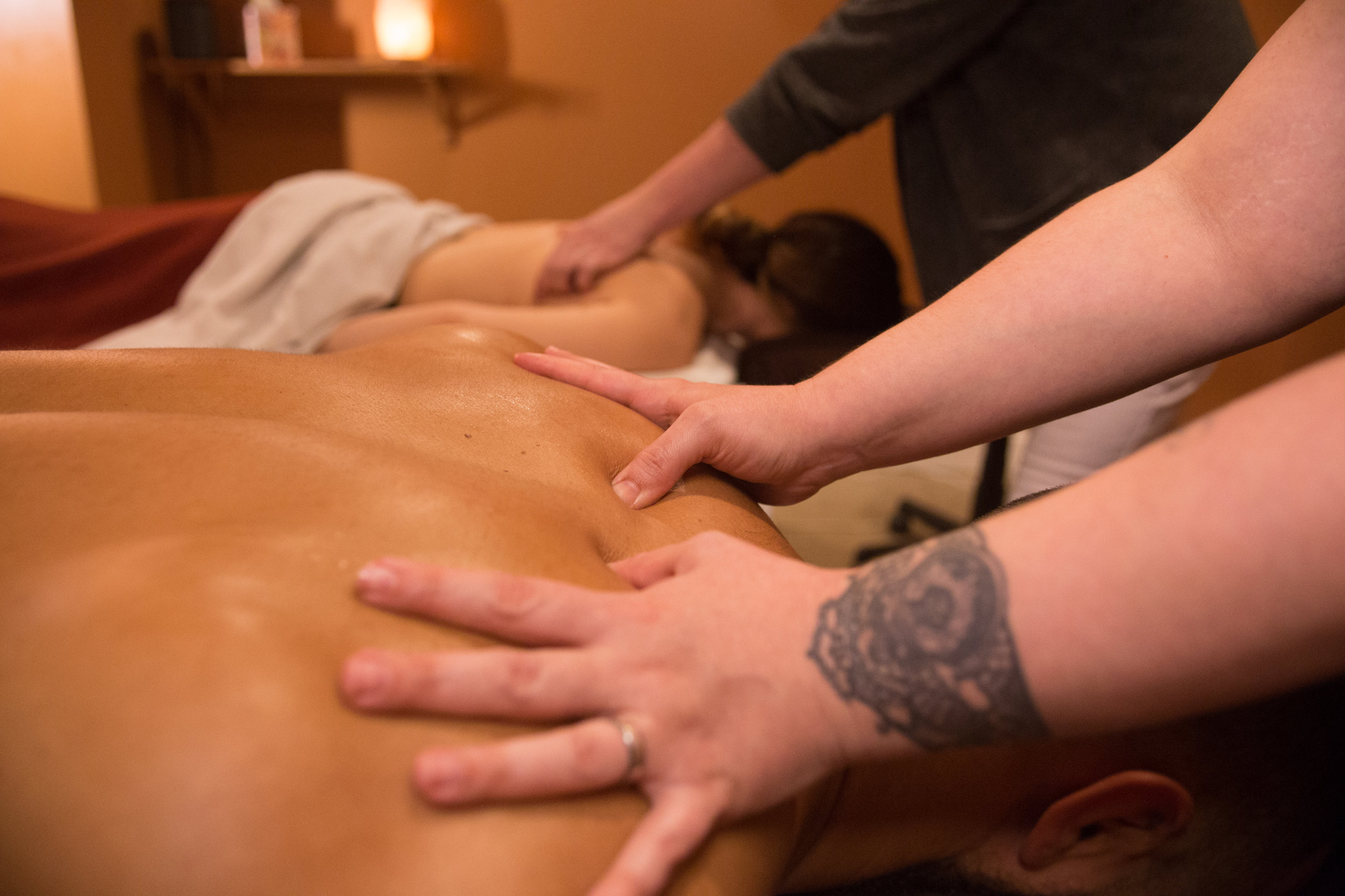 COUPLES PACKAGE   Double the pleasure of a full-on spa package with your significant other.  1-hour massage & 1-hour facial for two: $280  30-minute massage & 30-minute foot scrub for two: $160  1-hour hot stone massage, 1-hour facial & 30-minute foot scrub for two: $400
