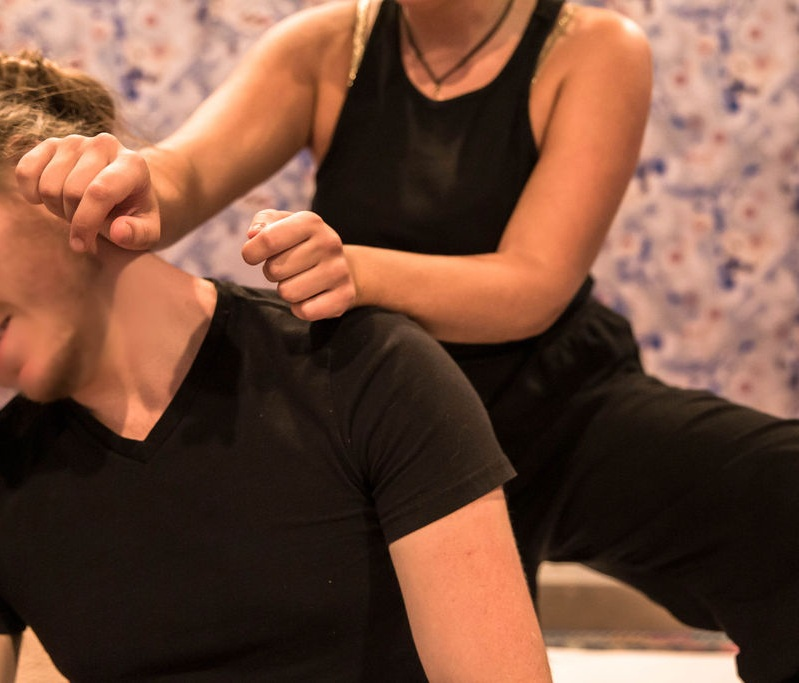 FLOOR THAI MASSAGE   An ancient massage that combines deep muscle massage with stretching, elements of shiatsu, yoga & acupressure. By loosening blockages, Floor Thai Massage helps harmonize the body.  60-minute session: $80  90-minute session: $110