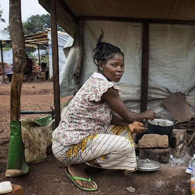 "Partner repost from @doctorswithoutborders : ""My name is Justine, I'm a refugee from Akwaya in southern Cameroon. I came to Nigeria in March 2018 and I have been living in Adagom camp for more than two months. I suffer from diabetes, but when we fled Cameroon, I could not take my medicine with me, so my condition got a lot worse. Luckily, an MSF doctor is now taking care of me and giving me my medication. I feel better now and my skin is returning to normal. I want to thank him so much and all the people that are making this possible, that are helping us with our health. When this unrest is over and I feel better, I am ready to go back in Cameroon, back to my home."" . More than 32,000 Cameroonians have fled unrest in their country to Nigeria's Cross River State. In 2018, MSF carried out 7,140 outpatient consultations for the refugees and local population, and began water and sanitation work to provide clean water and toilets. . Photo © @albertmasias  #whywegive #MSF #DoctorsWithoutBorders #humanitarian #Akwaya #Cameroon #Nigeria #refugee #conflict #youcanhelp"